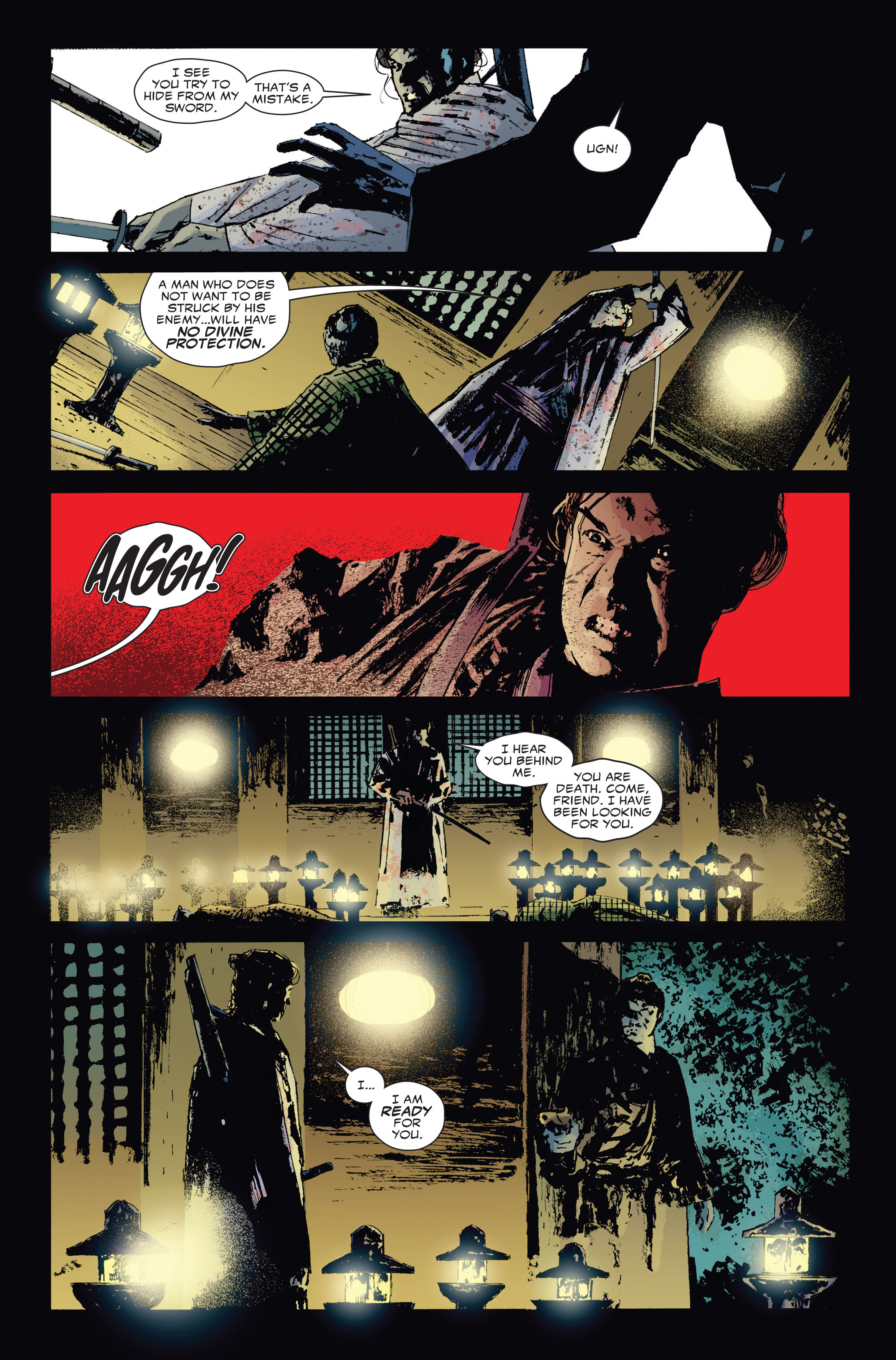 Read online 5 Ronin (2011) comic -  Issue #3 - 3