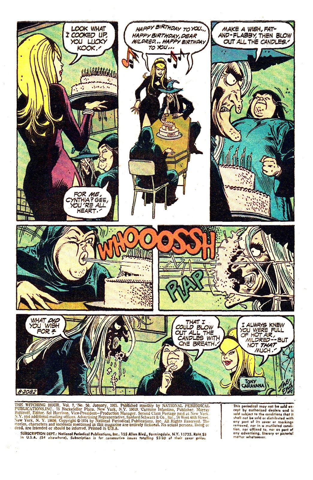 The Witching Hour (1969) issue 50 - Page 3