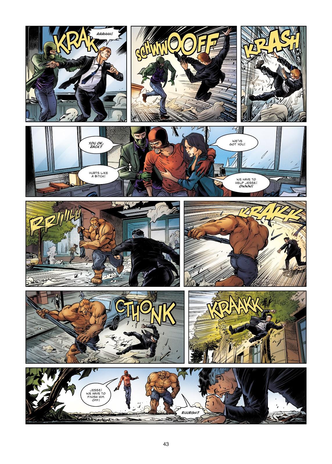 Read online Vigilantes comic -  Issue #4 - 43