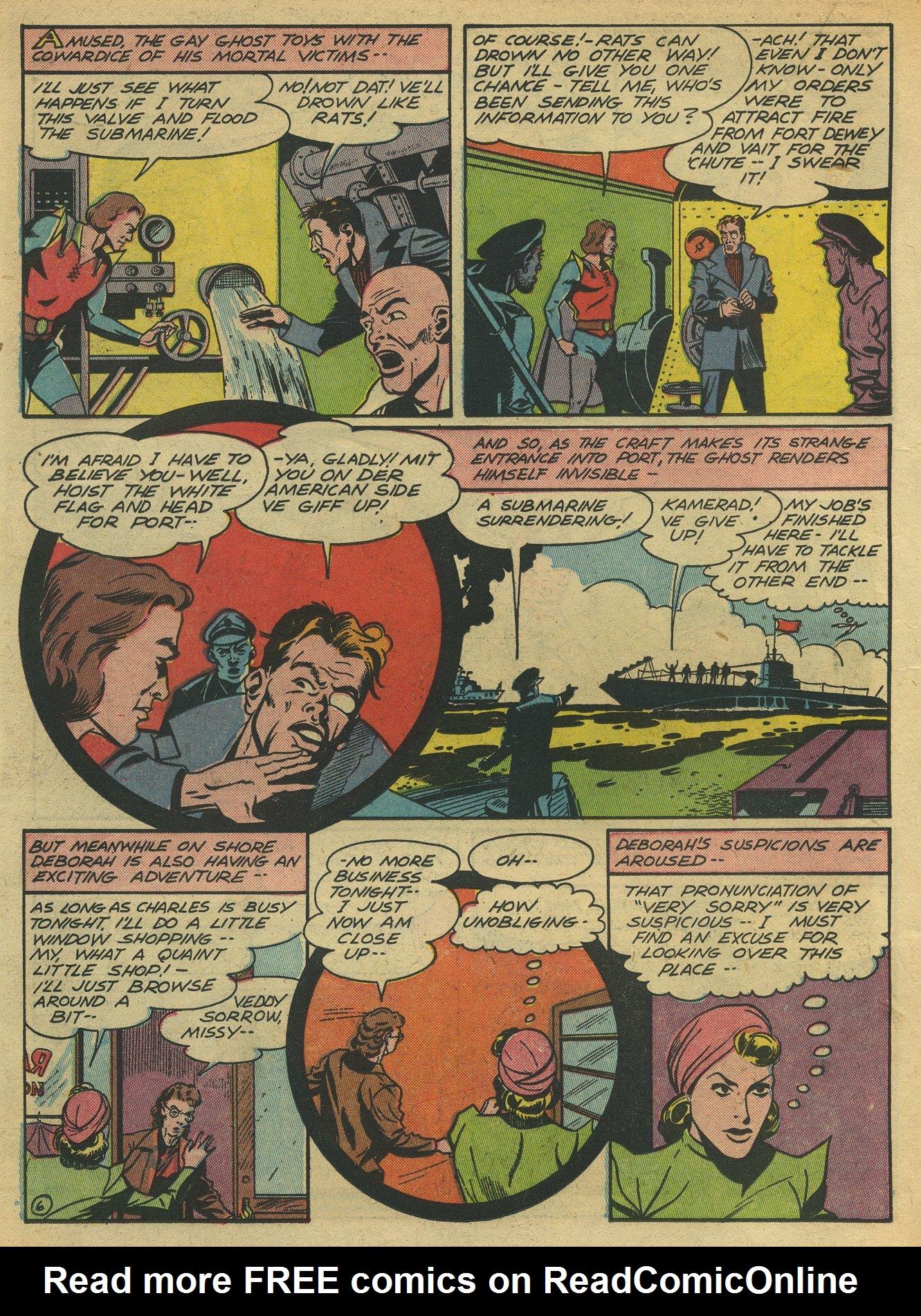 Read online Sensation (Mystery) Comics comic -  Issue #10 - 42