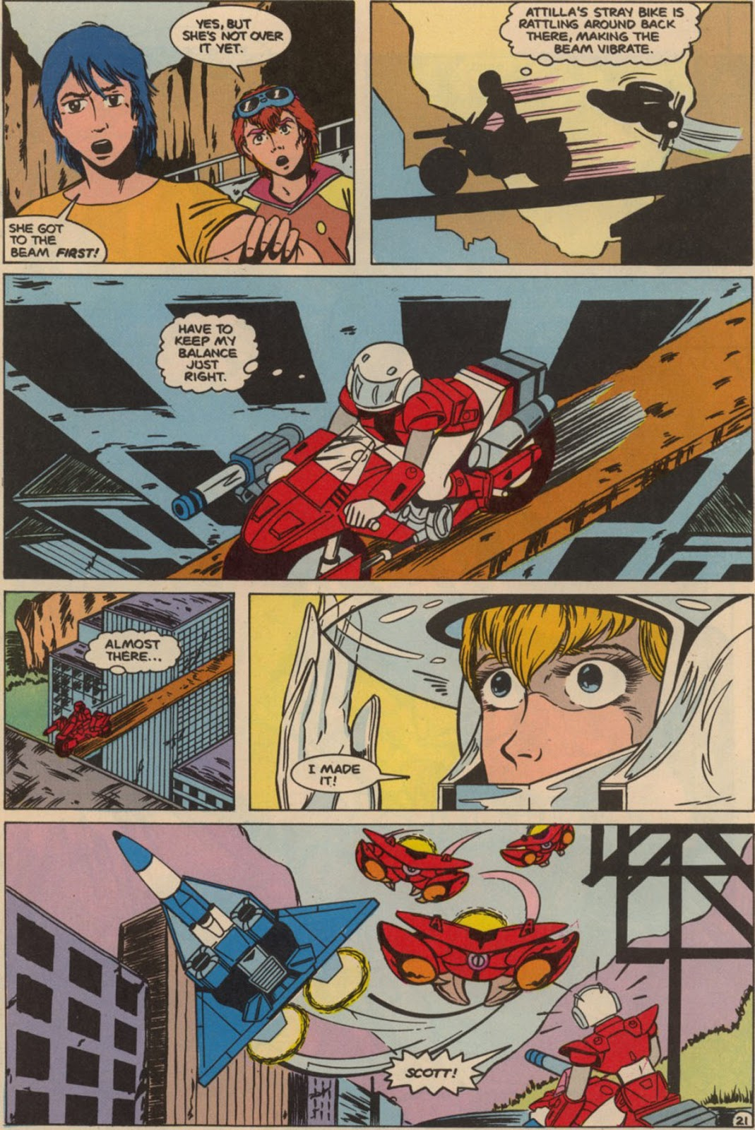 Robotech The New Generation issue 6 - Page 27