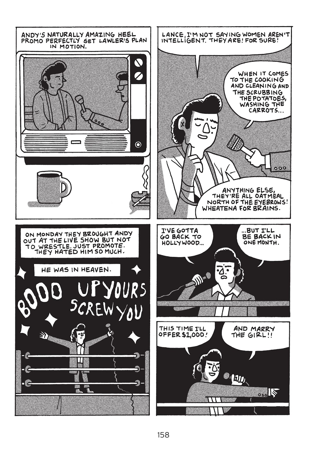 Read online Is This Guy For Real?: The Unbelievable Andy Kaufman comic -  Issue # TPB (Part 2) - 63