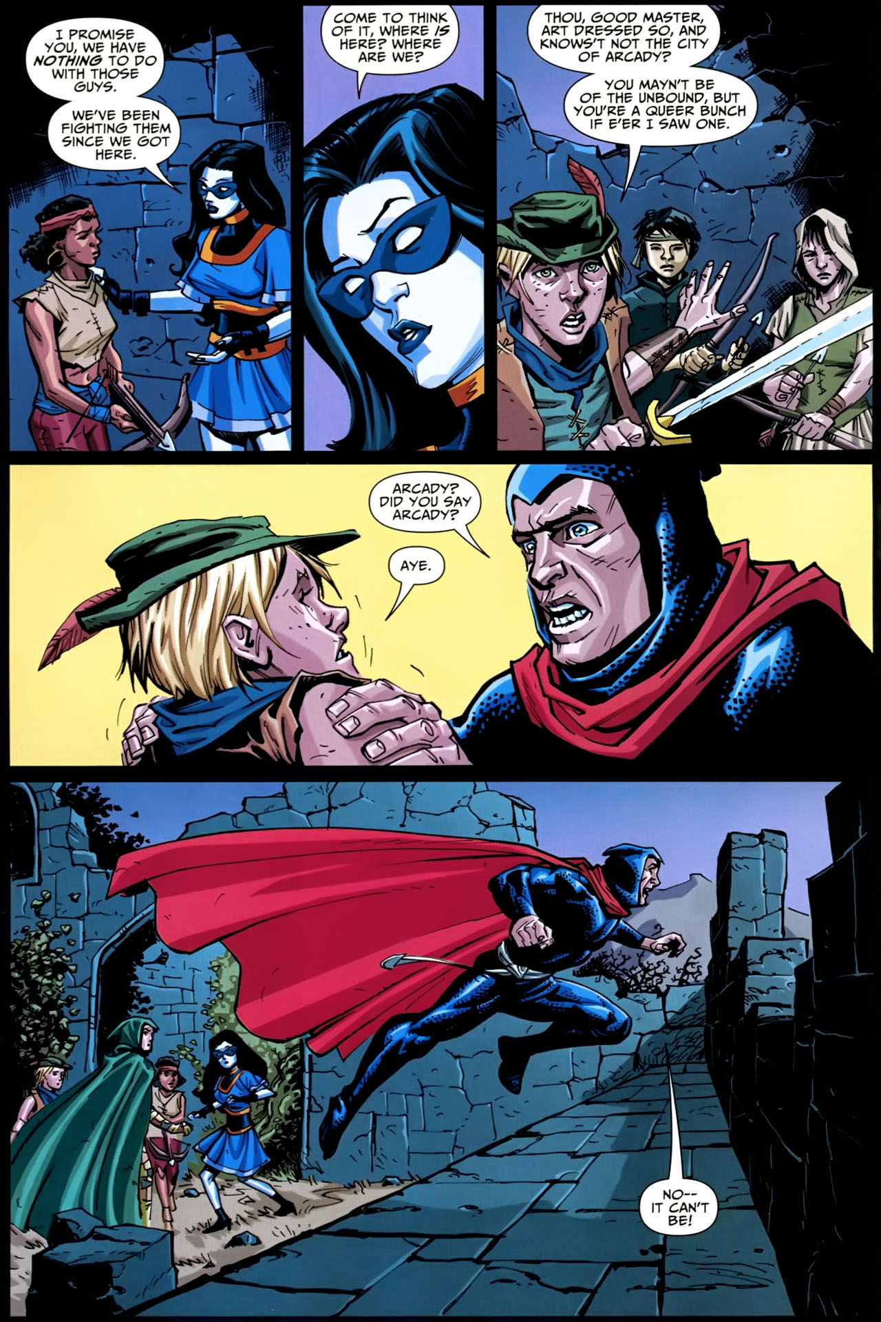 Read online Shadowpact comic -  Issue #20 - 22