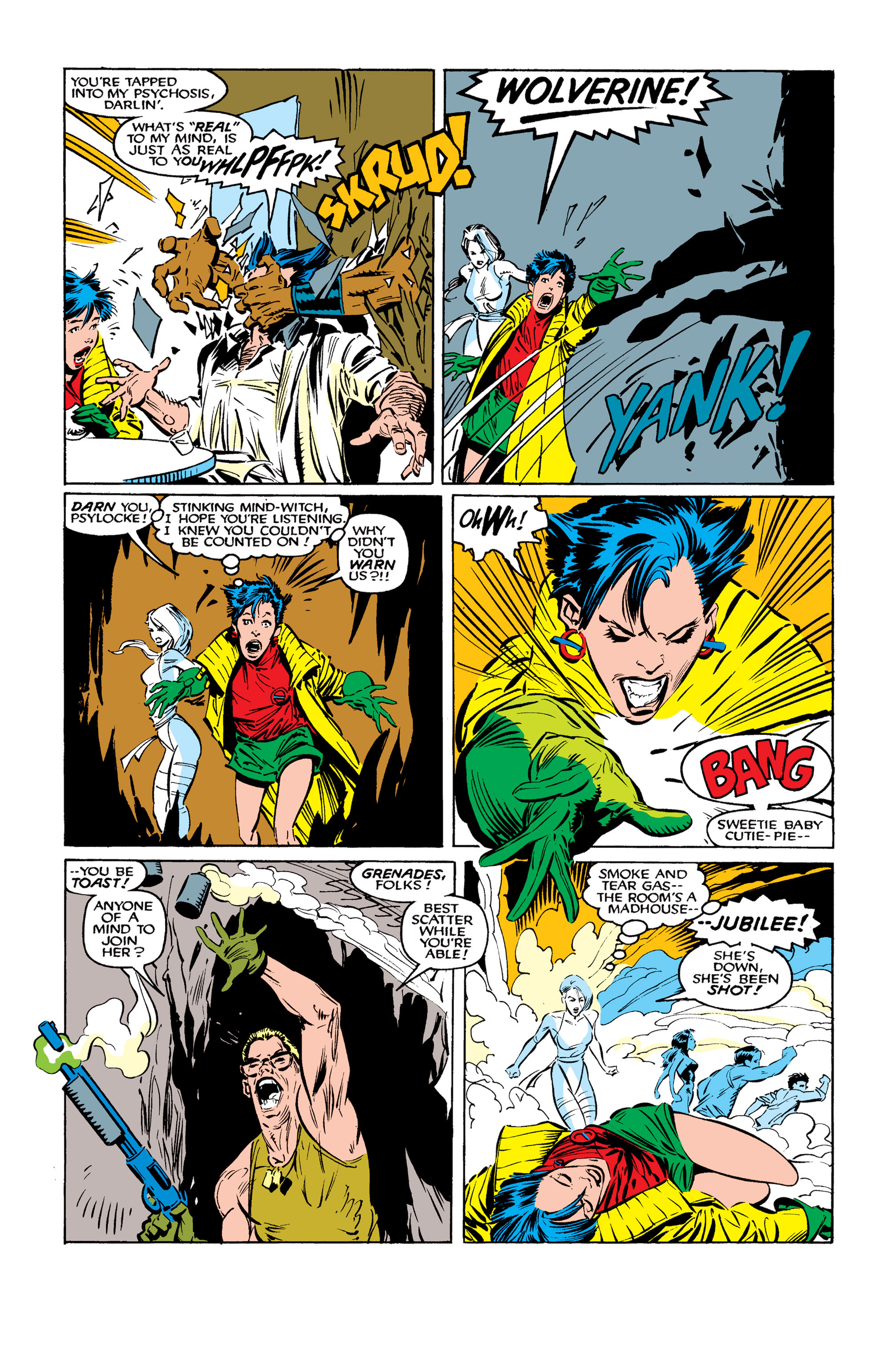 Read online Uncanny X-Men (1963) comic -  Issue #261 - 8