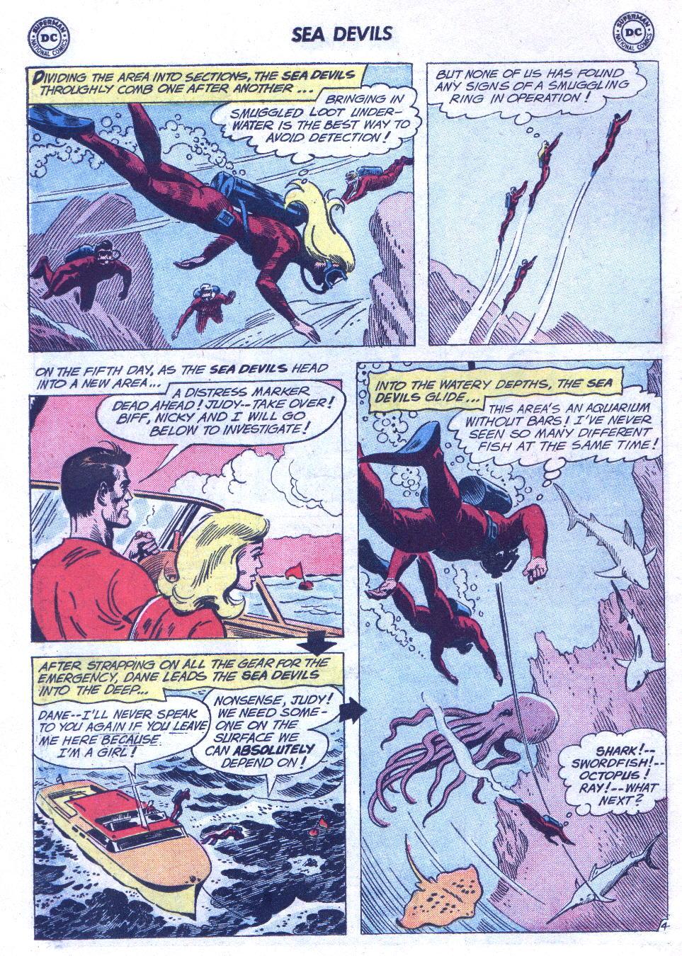 Read online Sea Devils comic -  Issue #3 - 7