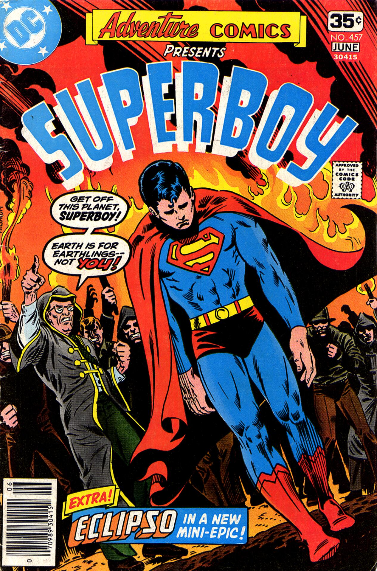 Read online Adventure Comics (1938) comic -  Issue #457 - 1