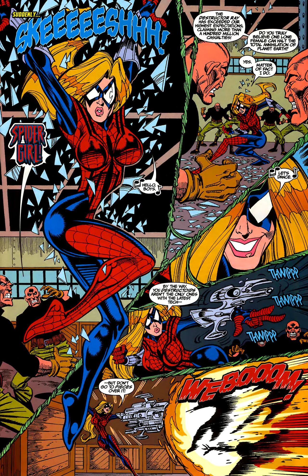 Read online Amazing Spider-Girl comic -  Issue #1 - 4