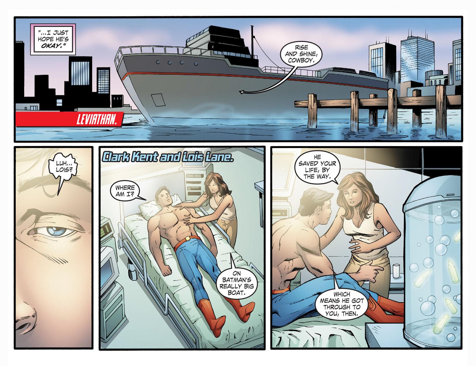 Read online Smallville: Season 11 comic -  Issue #22 - 7