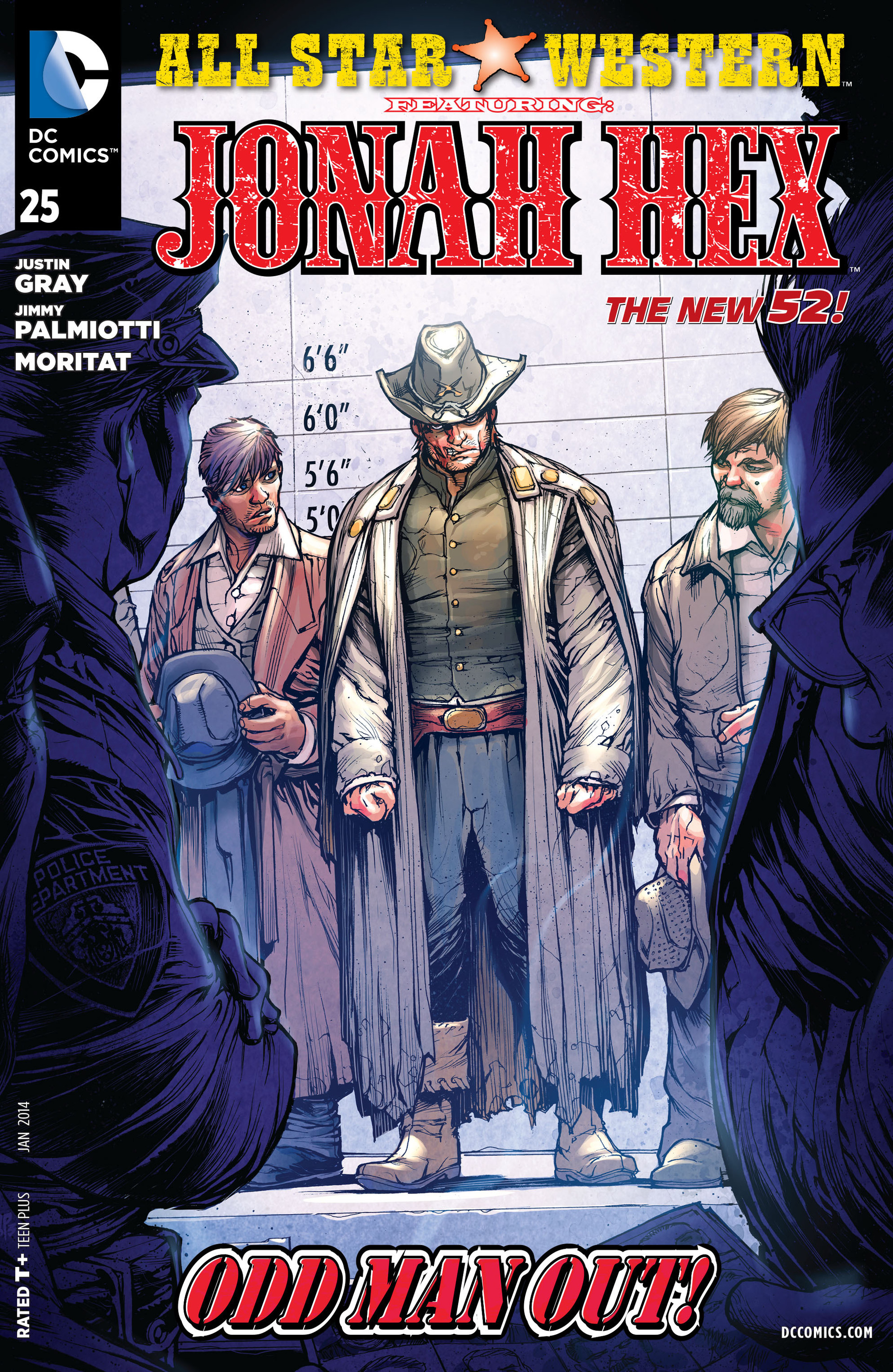 Read online All-Star Western (2011) comic -  Issue #25 - 1