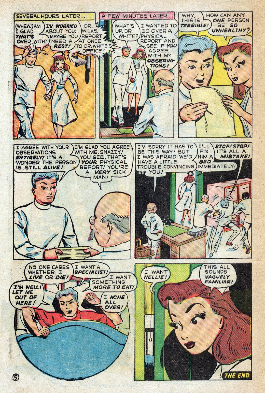 Read online Nellie The Nurse (1945) comic -  Issue #17 - 48