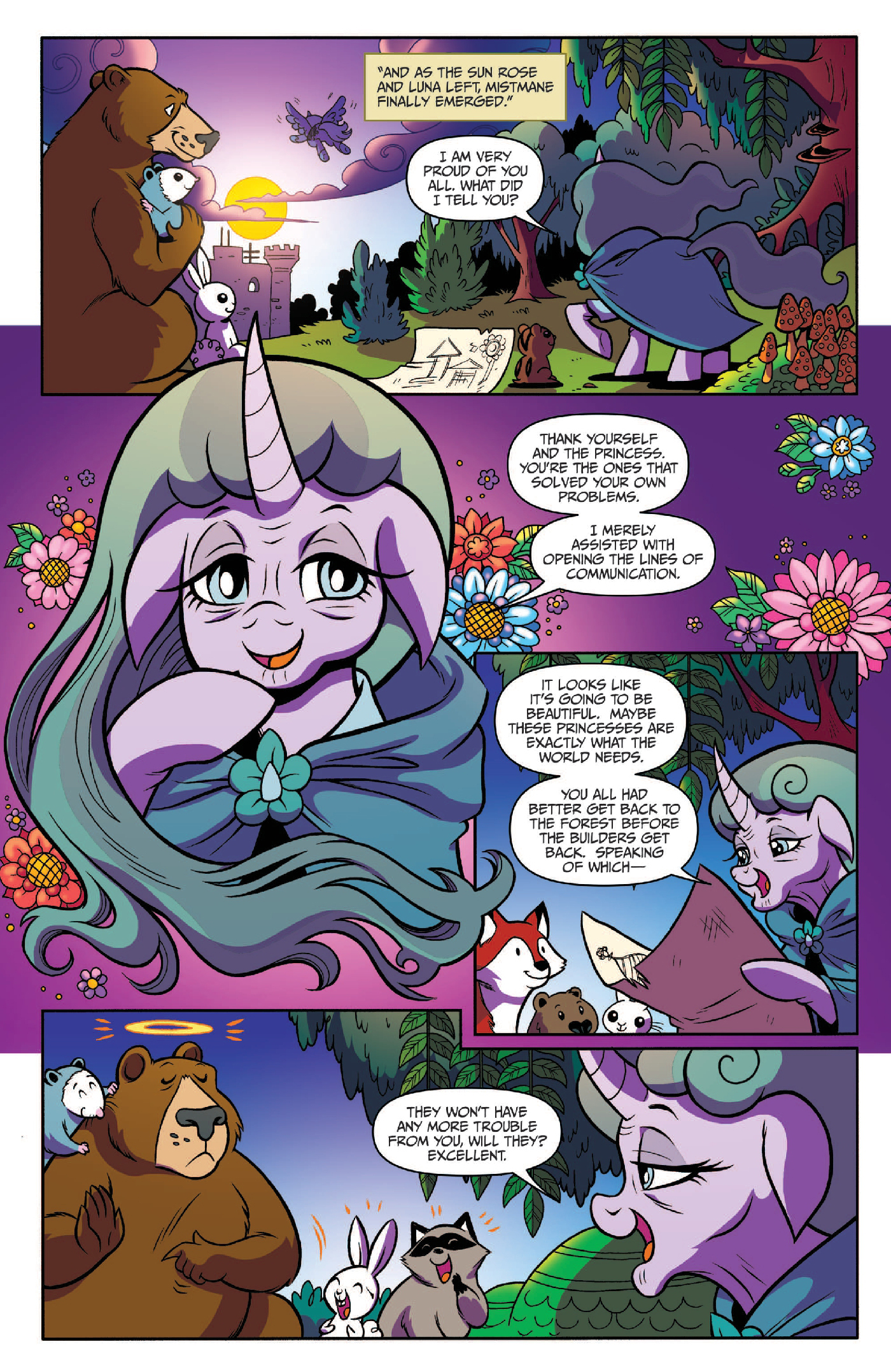 Read online My Little Pony: Legends of Magic comic -  Issue #3 - 17
