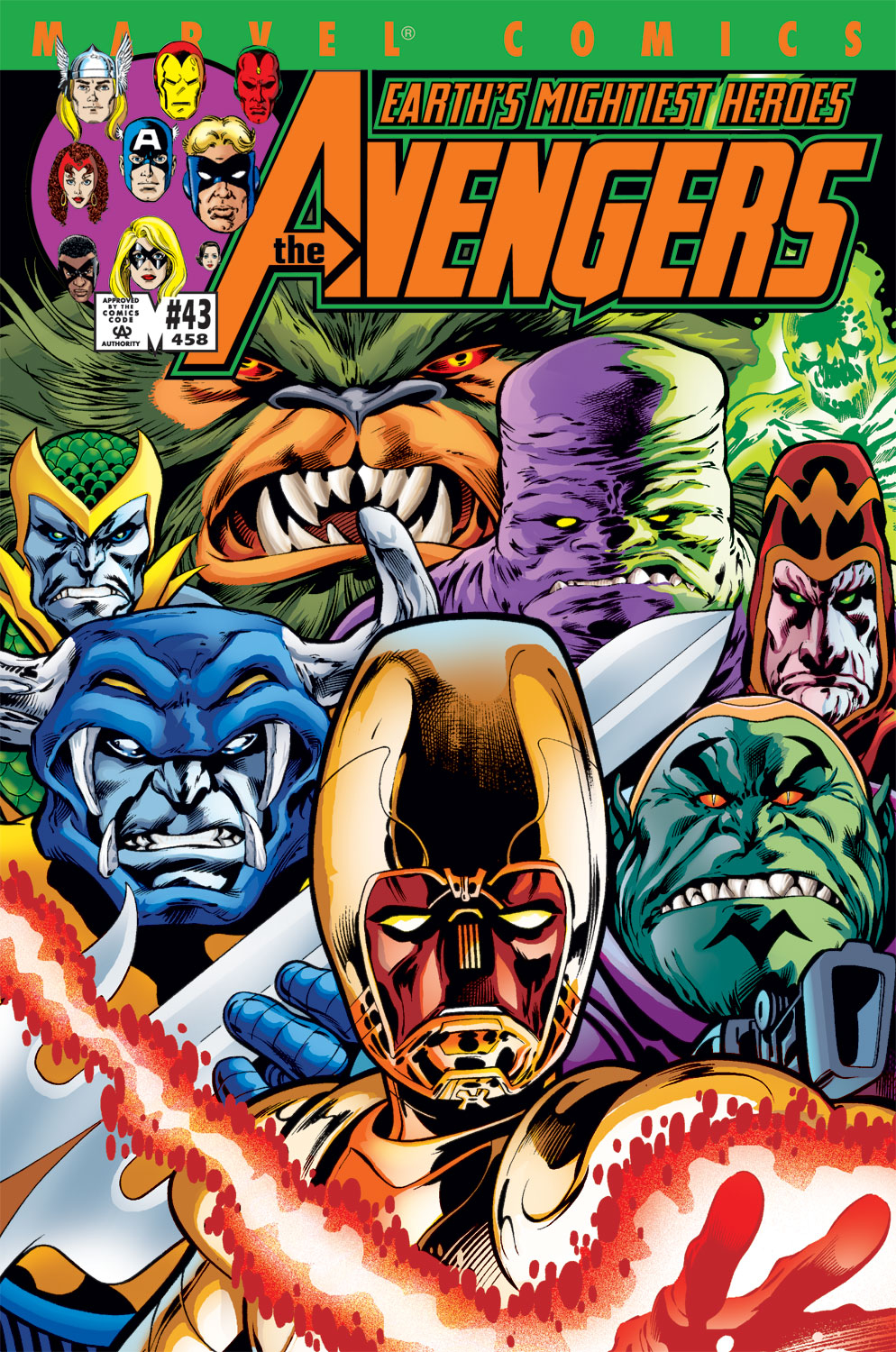 Read online Avengers (1998) comic -  Issue #43 - 1