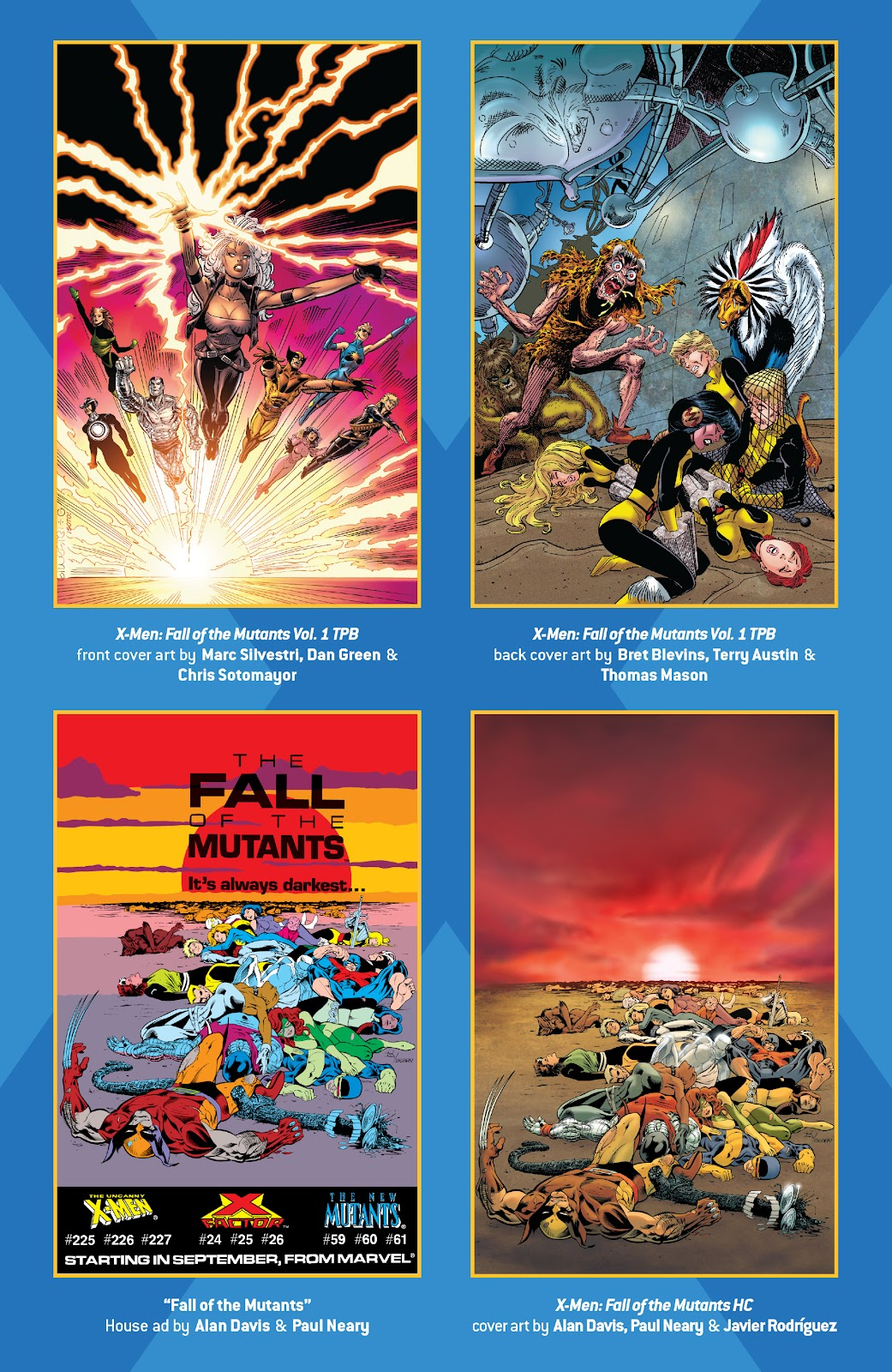 Read online X-Men Milestones: Fall of the Mutants comic -  Issue # TPB (Part 1) - 67