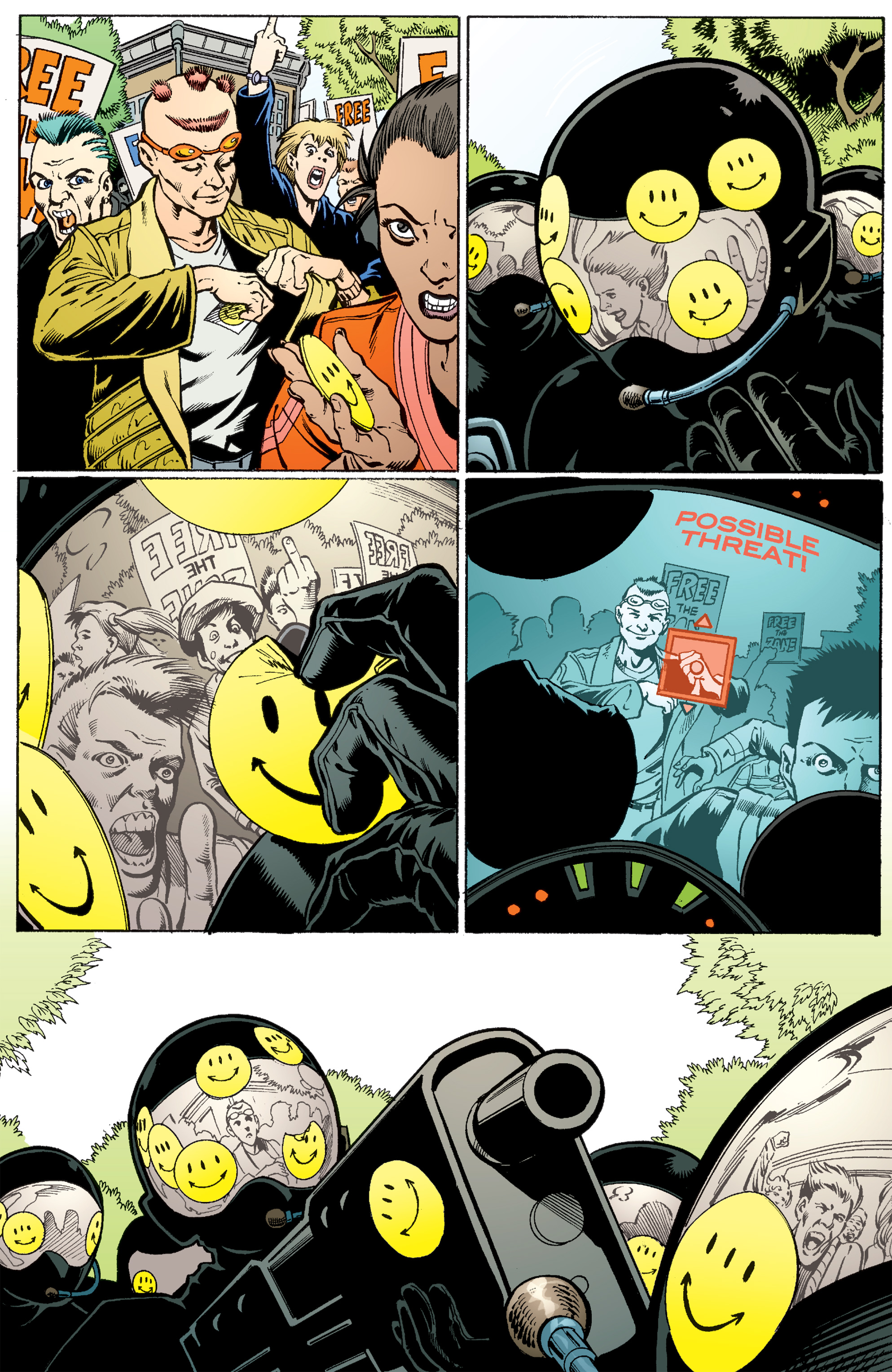 Read online Transmetropolitan comic -  Issue #56 - 23