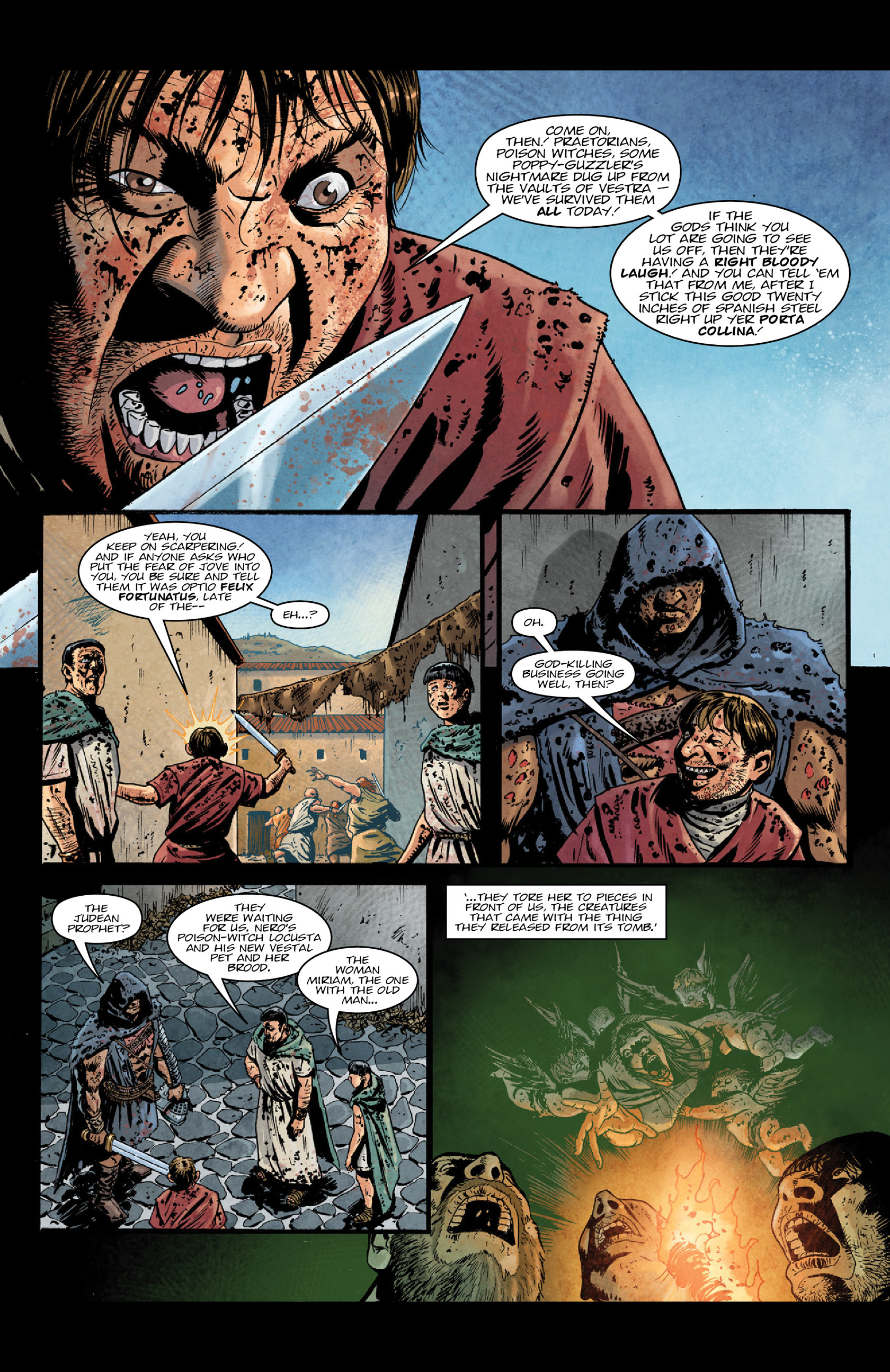 Read online Aquila comic -  Issue #5 - 10