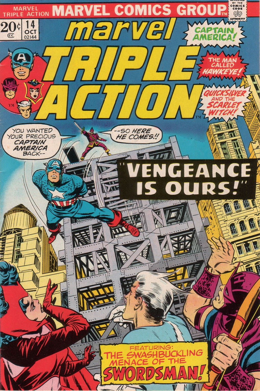 Marvel Triple Action (1972) issue 14 - Page 1