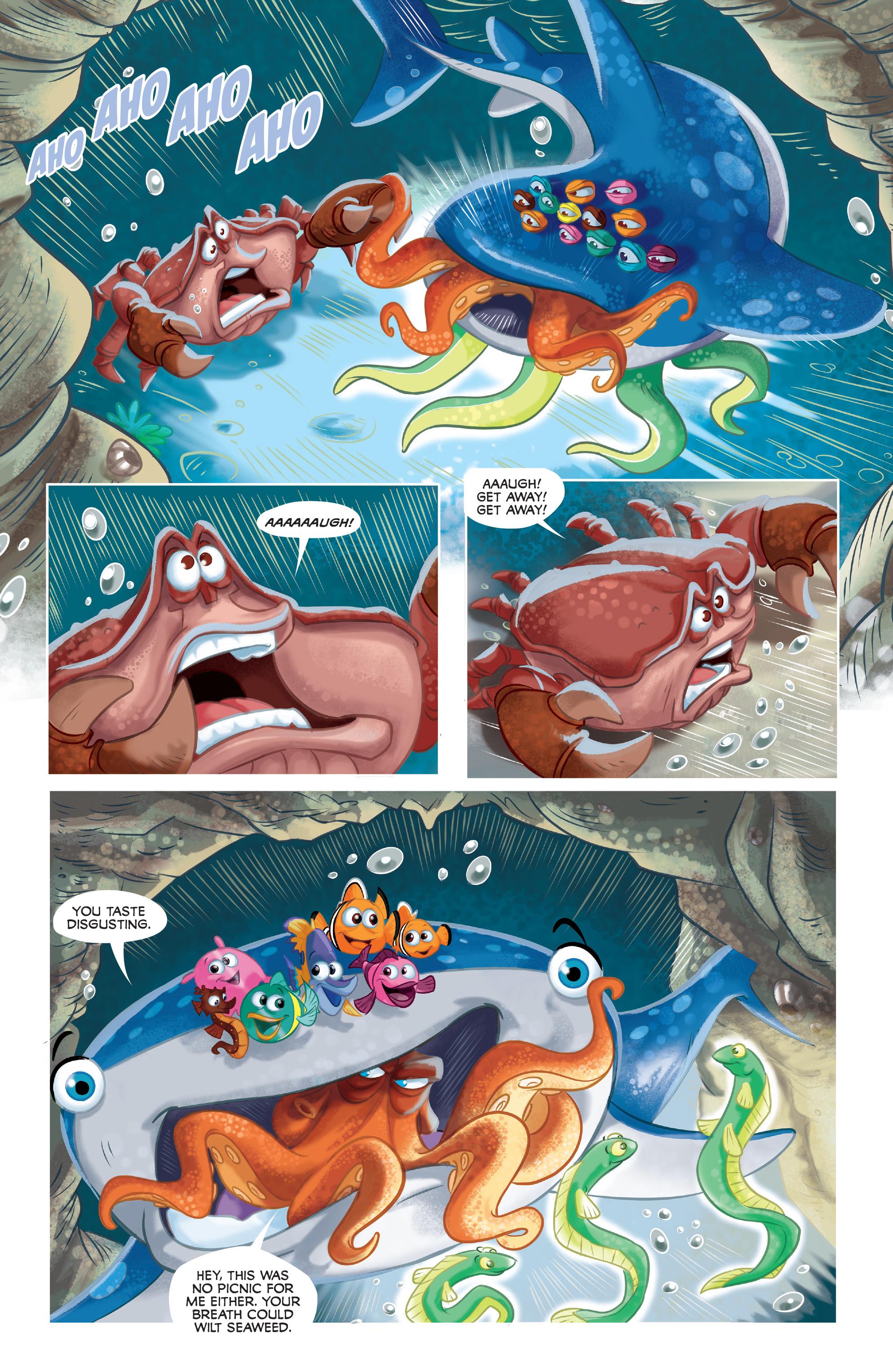Read online Disney Pixar Finding Dory comic -  Issue #3 - 20