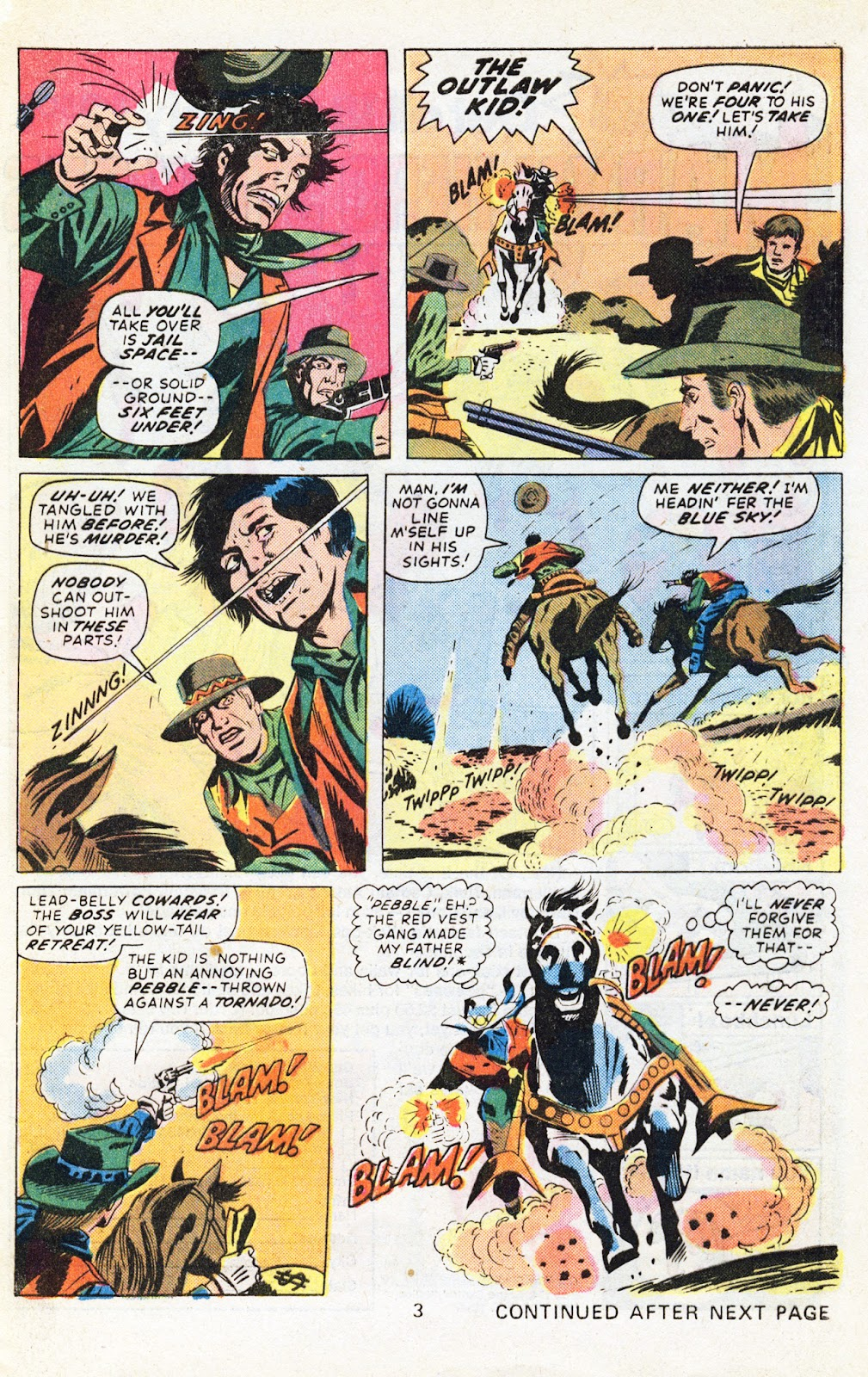 The Outlaw Kid (1970) issue 29 - Page 5