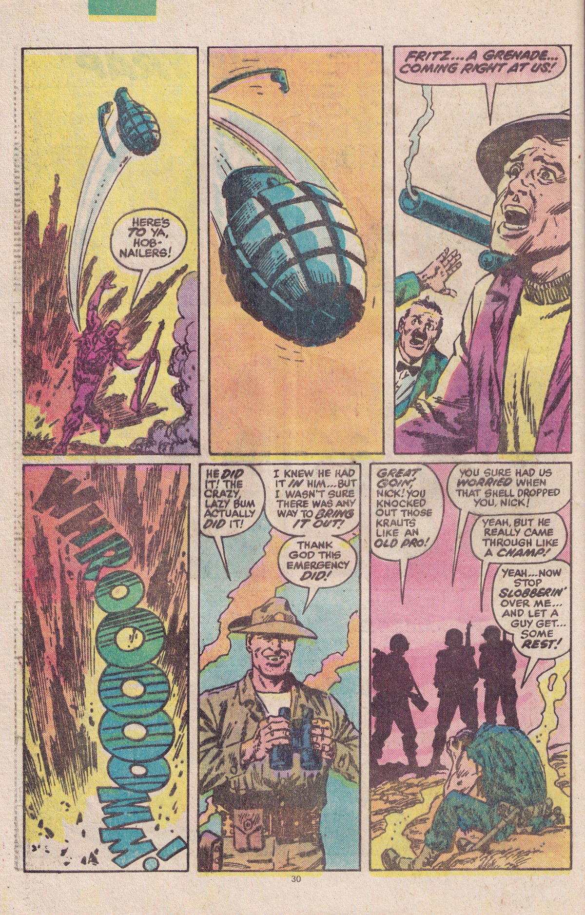 Read online Sgt. Fury comic -  Issue #158 - 32