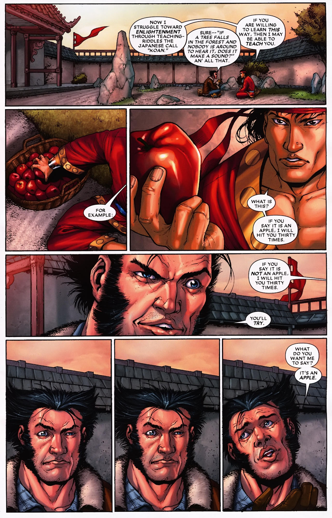 Read online Wolverine: First Class comic -  Issue #9 - 4