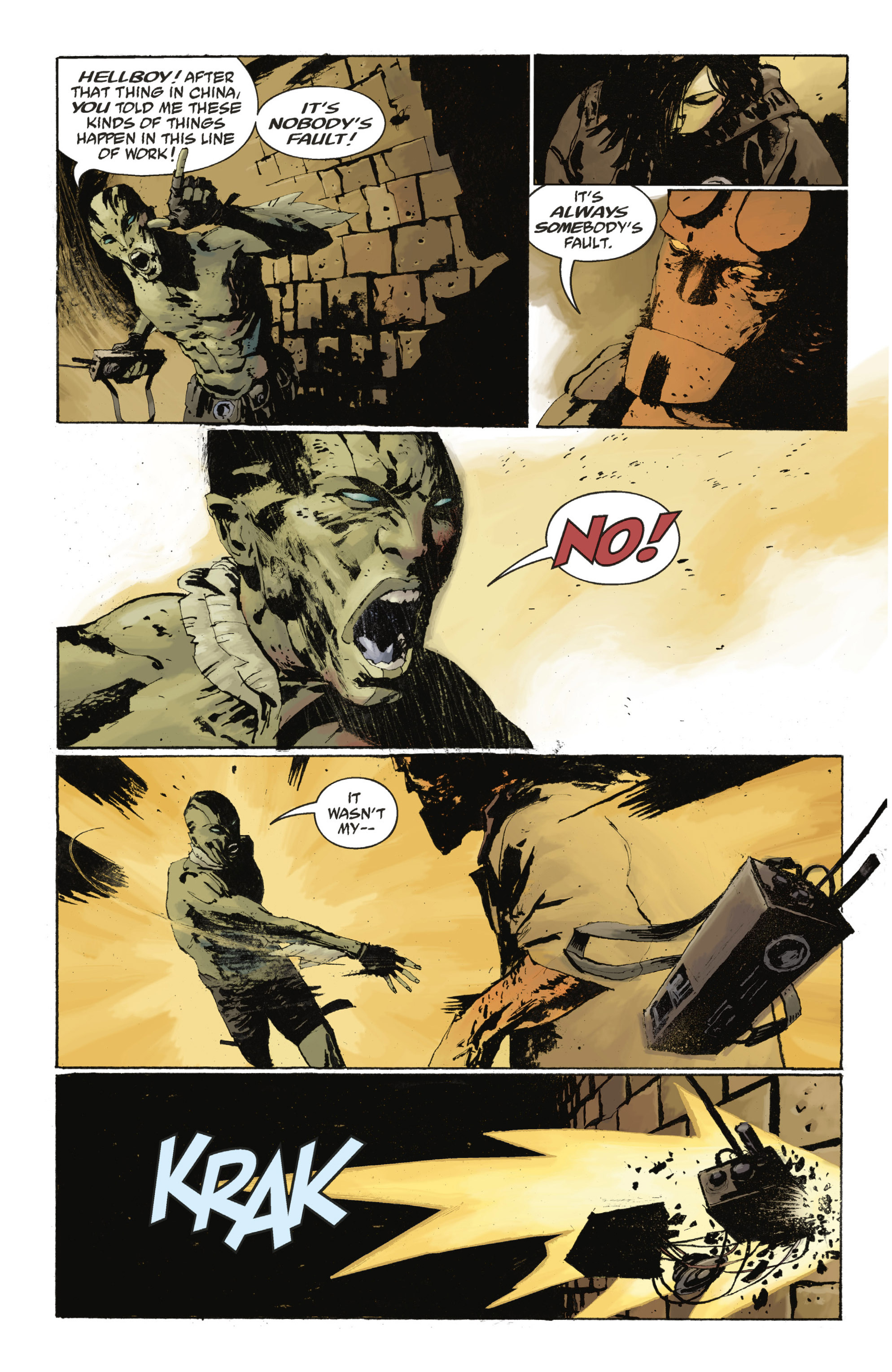 Read online Abe Sapien: The Drowning comic -  Issue #Abe Sapien: The Drowning _TPB - 54