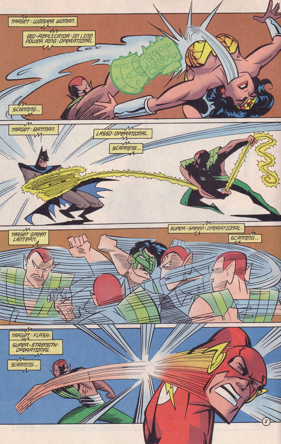 Read online Adventures in the DC Universe comic -  Issue #18 - 3