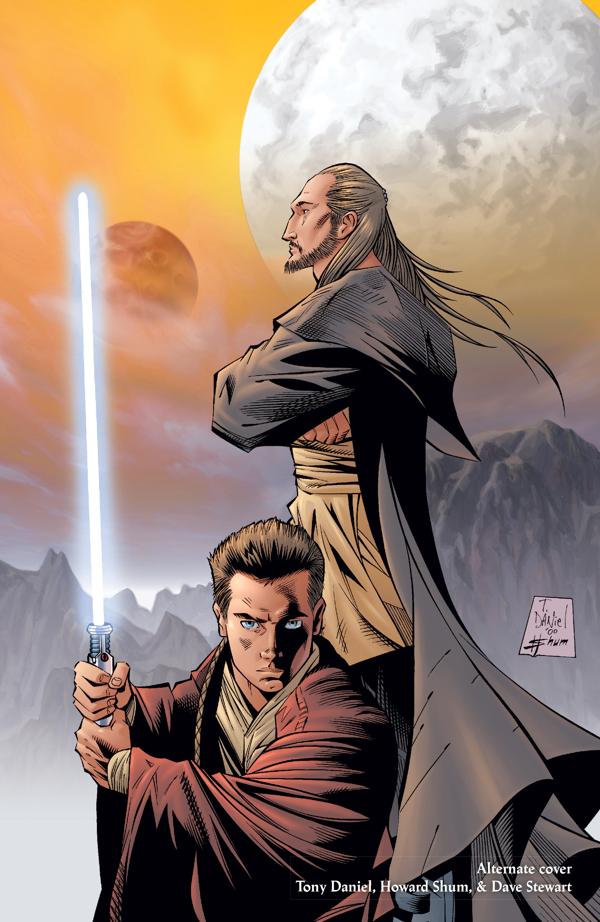 Read online Star Wars: Qui-Gon & Obi-Wan - Last Stand on Ord Mantell comic -  Issue #1 - 25