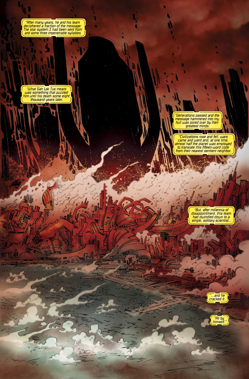 Read online Ultimate Vision comic -  Issue #0 - 14