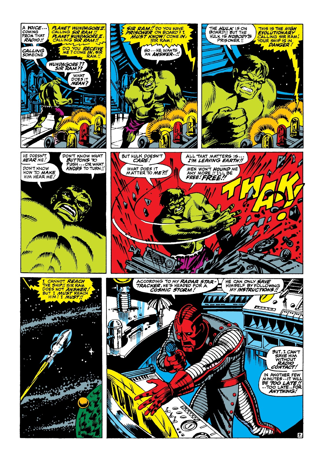 Read online Marvel Masterworks: The Incredible Hulk comic -  Issue # TPB 3 (Part 2) - 74