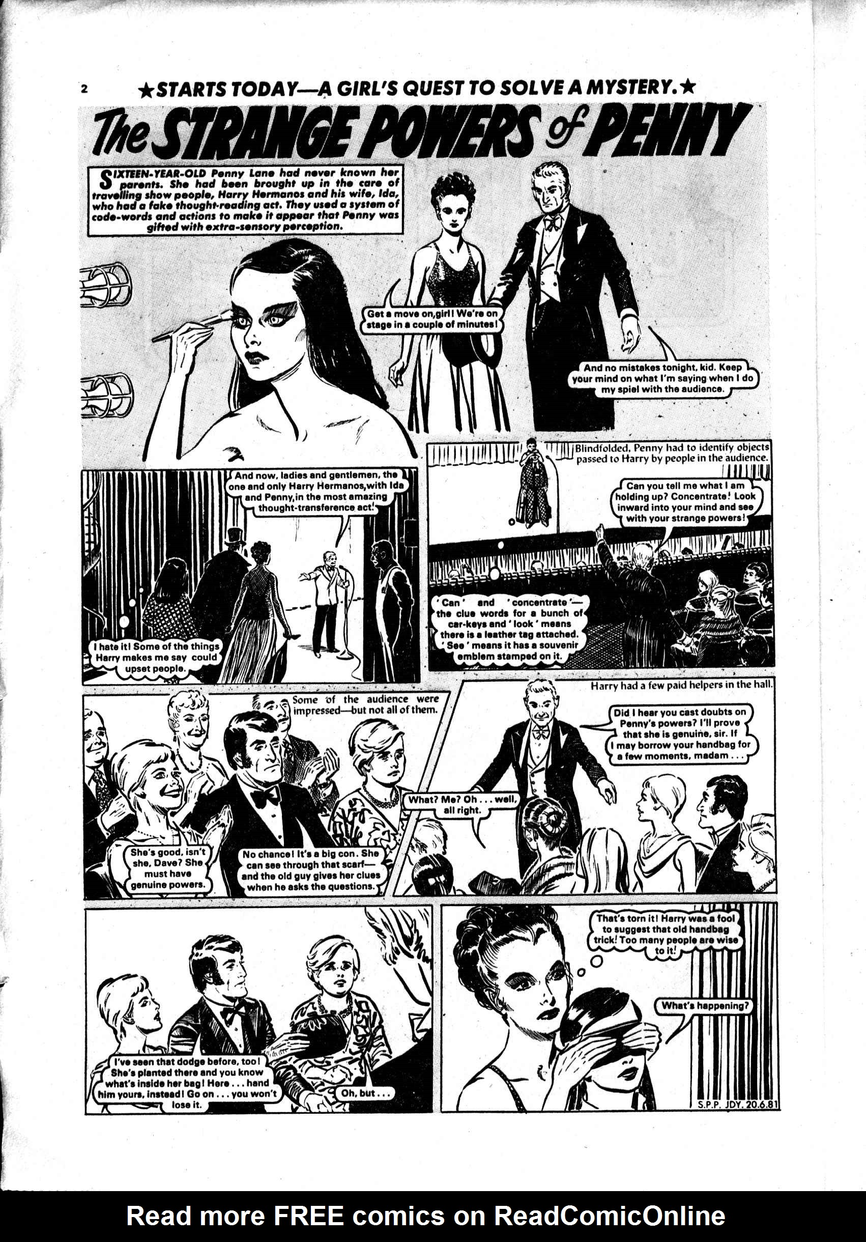 Read online Judy comic -  Issue #1119 - 2