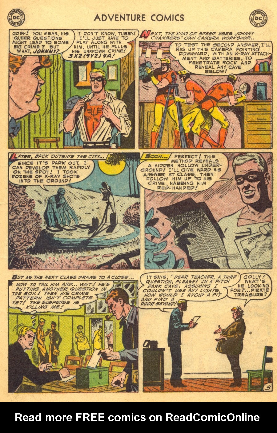 Read online Adventure Comics (1938) comic -  Issue #203 - 27