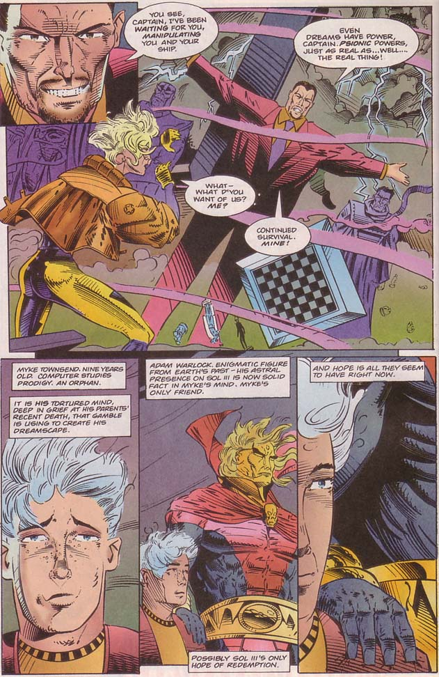 Read online Cyberspace 3000 comic -  Issue #8 - 4