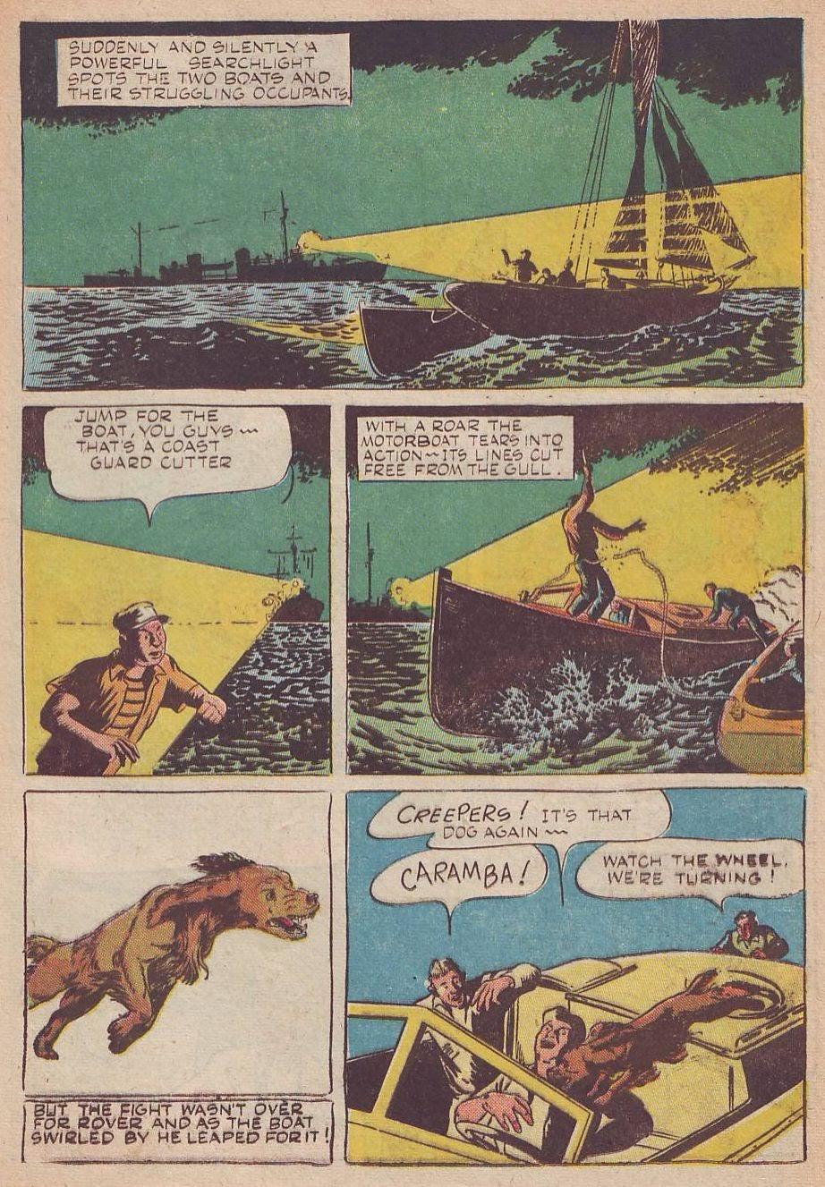 Read online Animal Comics comic -  Issue #25 - 37