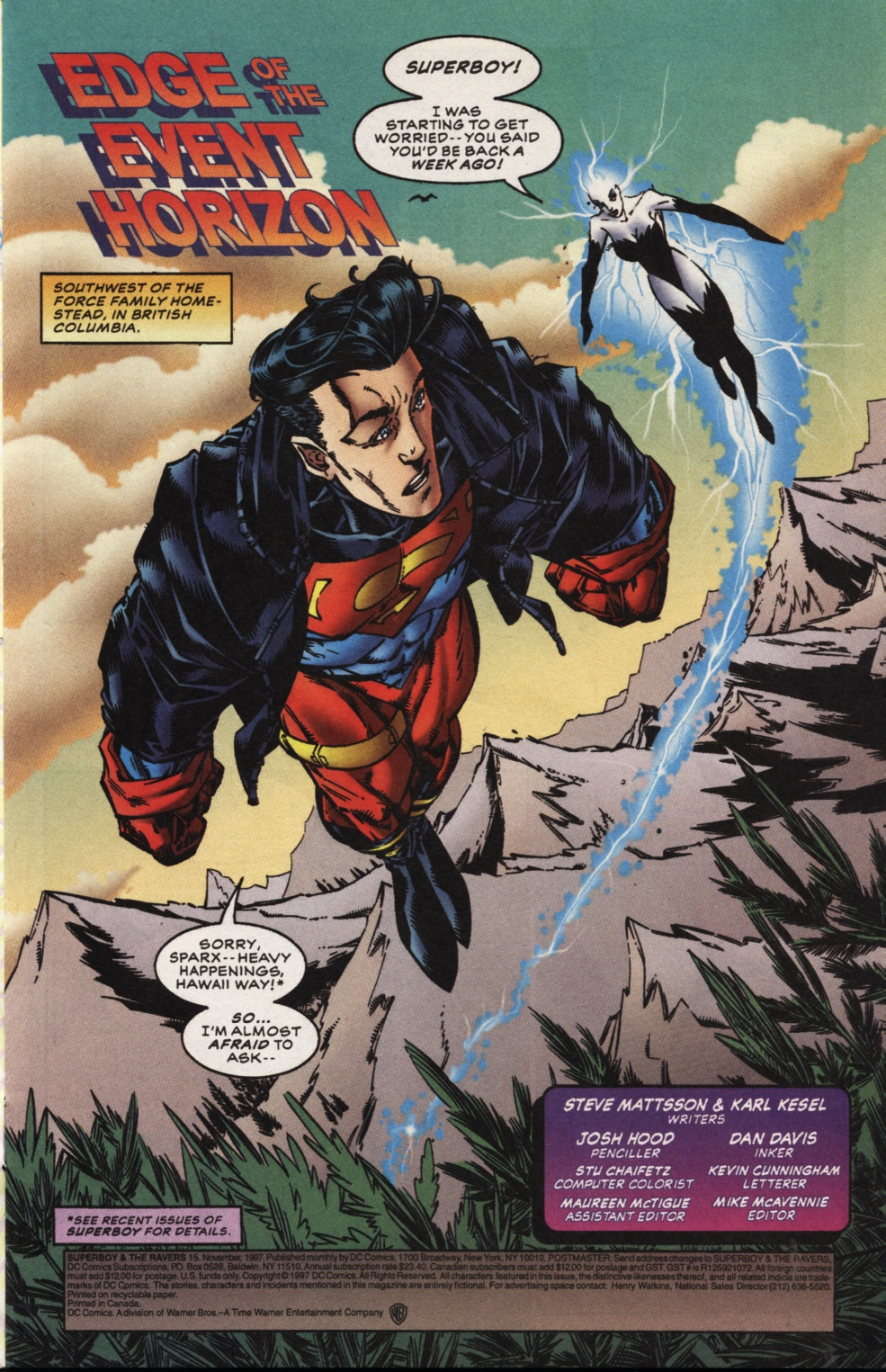 Superboy & The Ravers issue 15 - Page 2