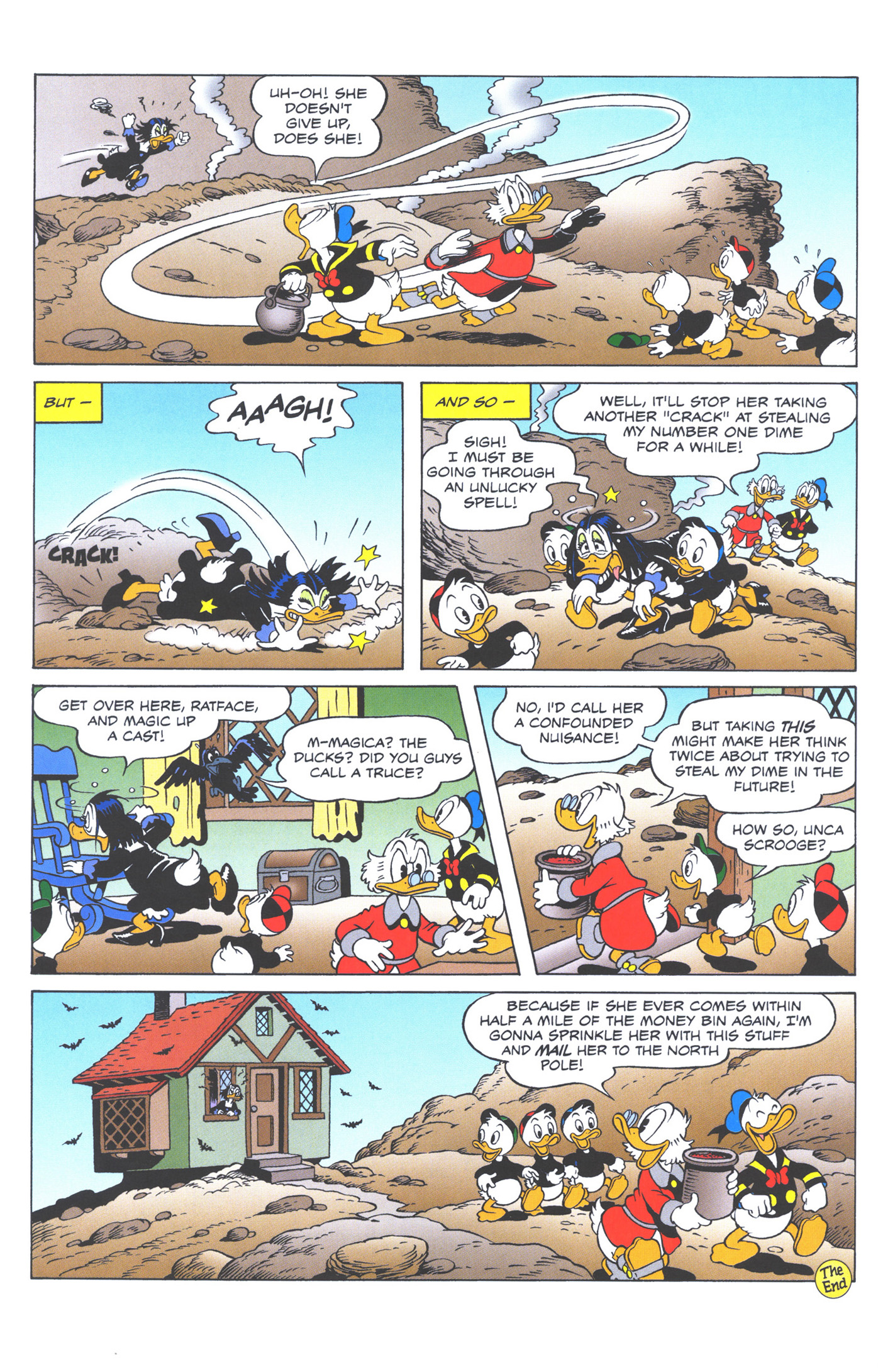 Read online Uncle Scrooge (1953) comic -  Issue #373 - 42