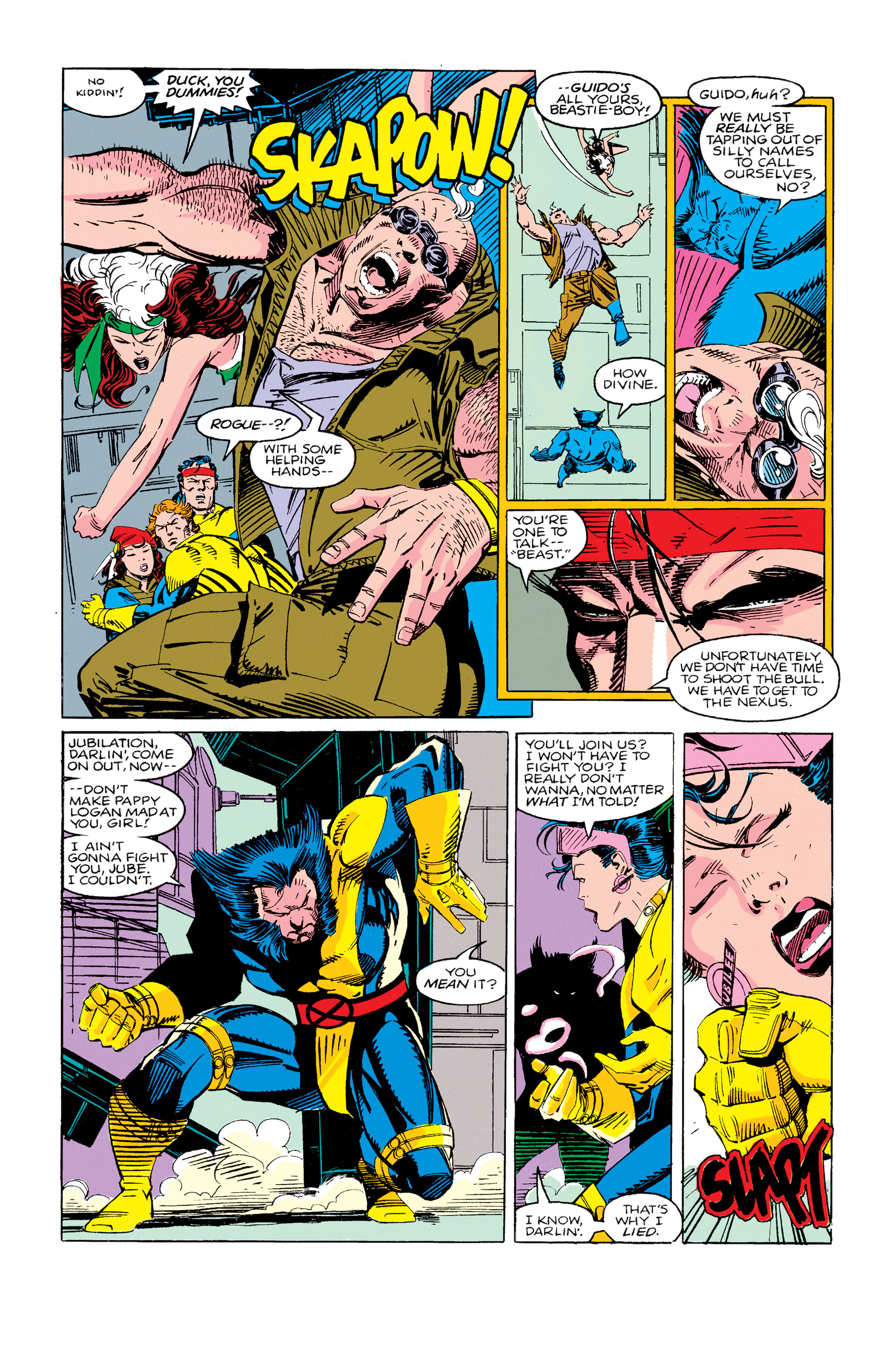Read online Uncanny X-Men (1963) comic -  Issue #280 - 19