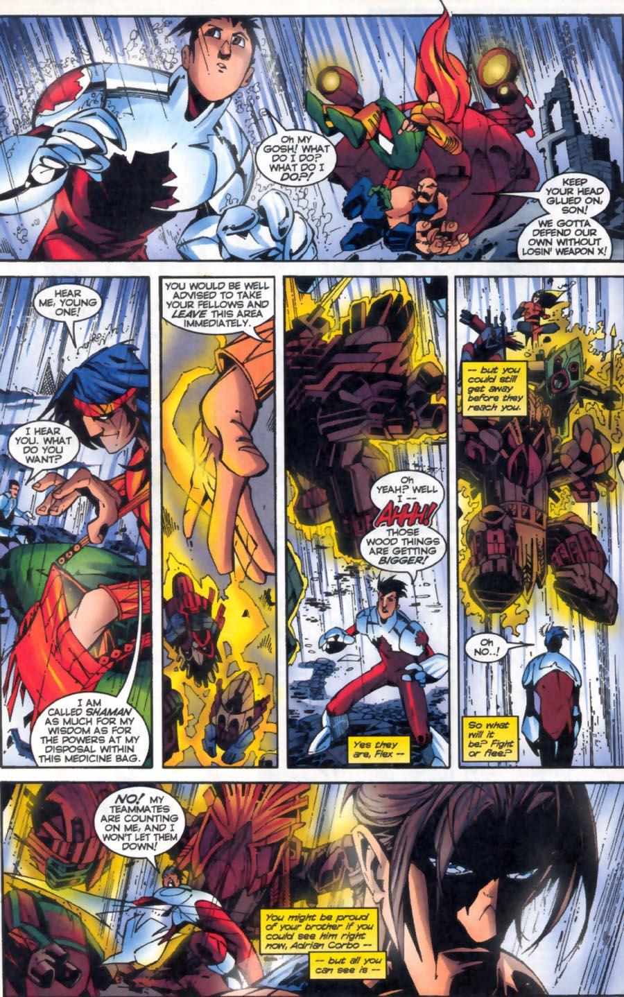 Read online Alpha Flight (1997) comic -  Issue #19 - 5