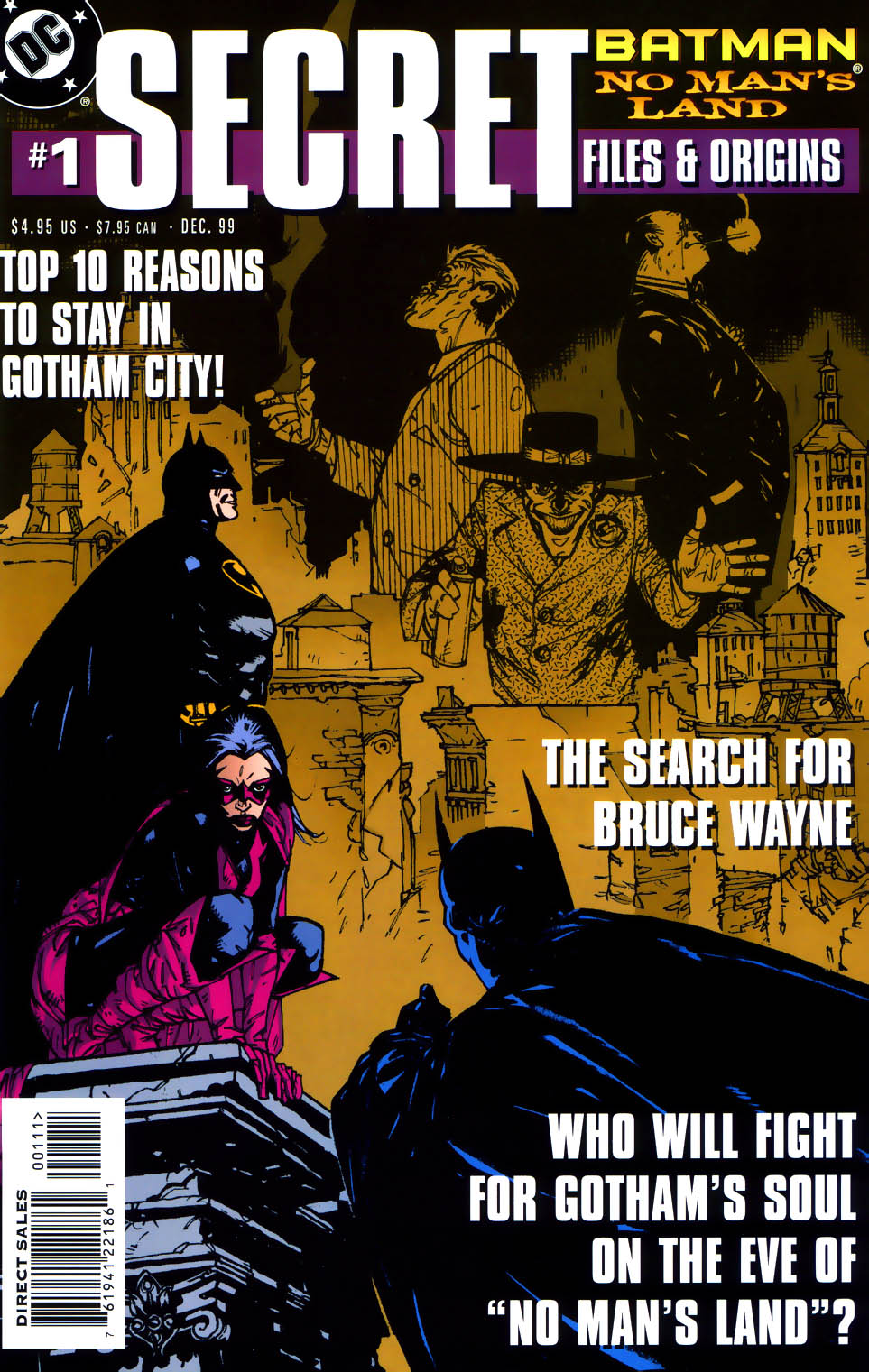 Read online Batman: No Man's Land Secret Files comic -  Issue # Full - 1