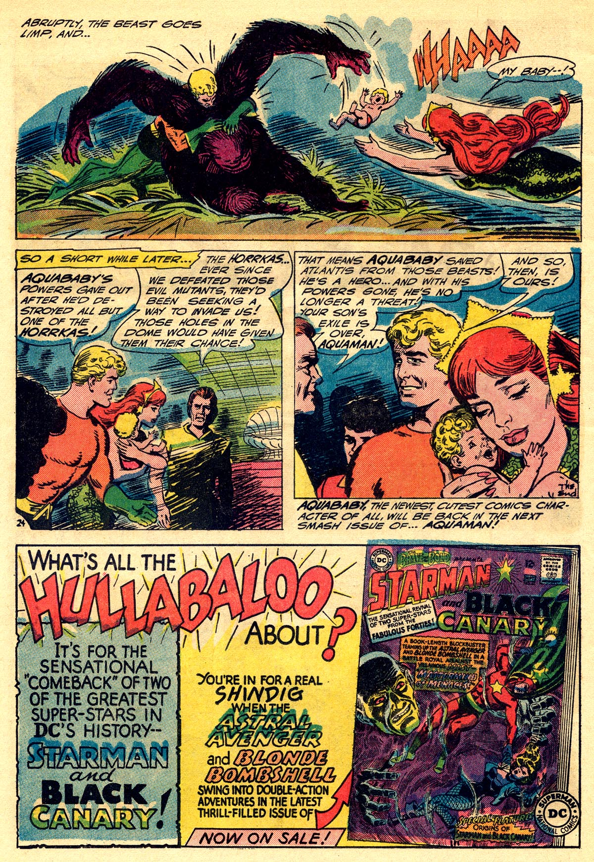 Read online Aquaman (1962) comic -  Issue #23 - 32