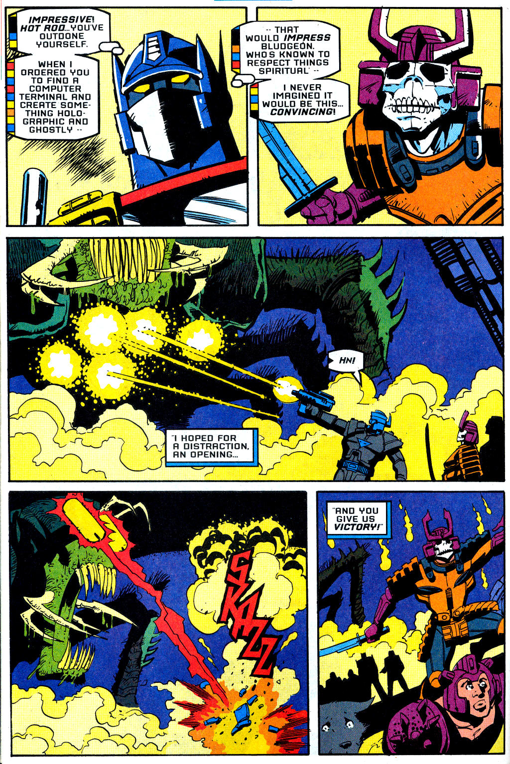 Read online Transformers: Generation 2 comic -  Issue #2 - 23