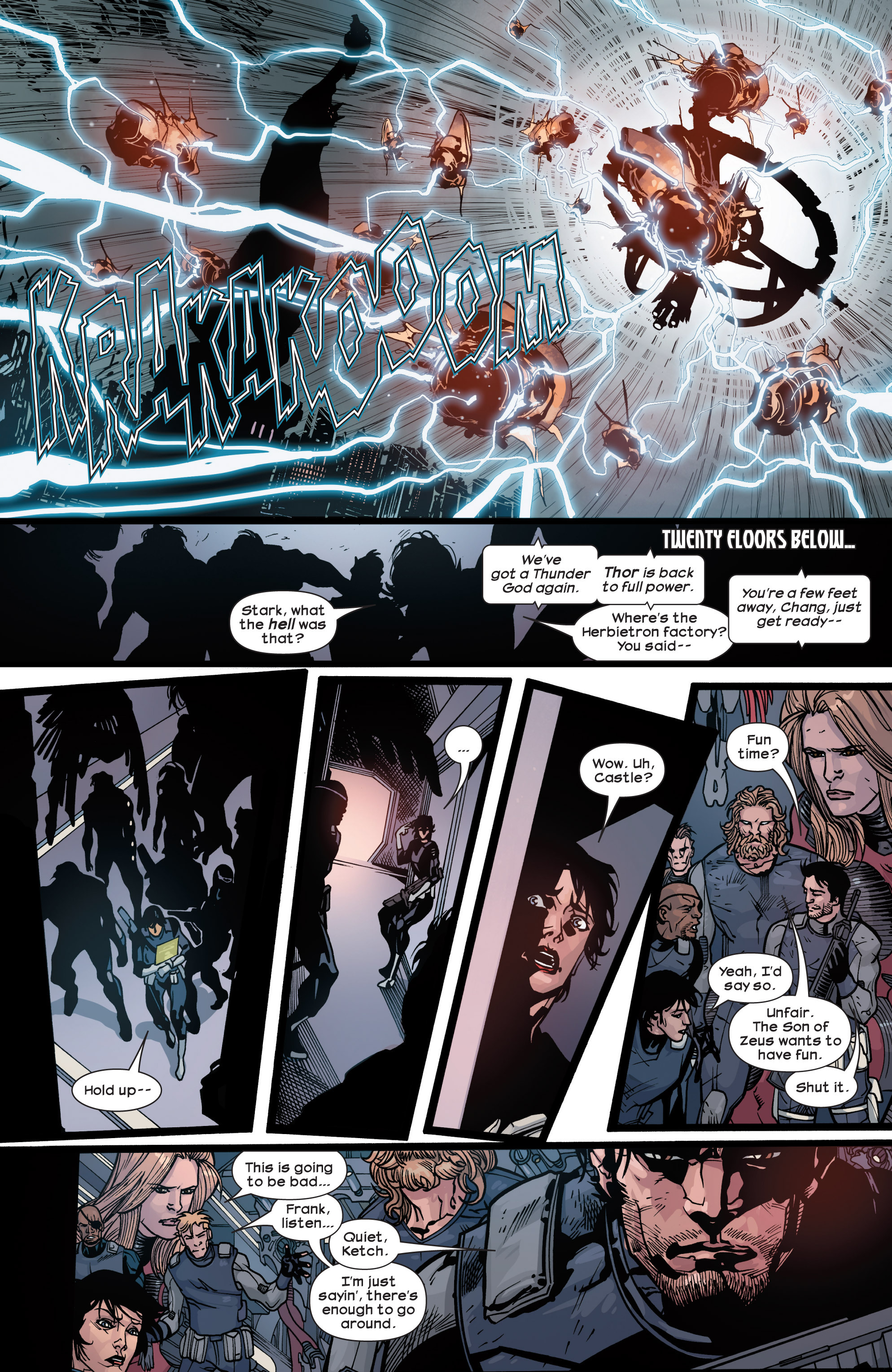 Read online Ultimate Comics Ultimates comic -  Issue #30 - 10