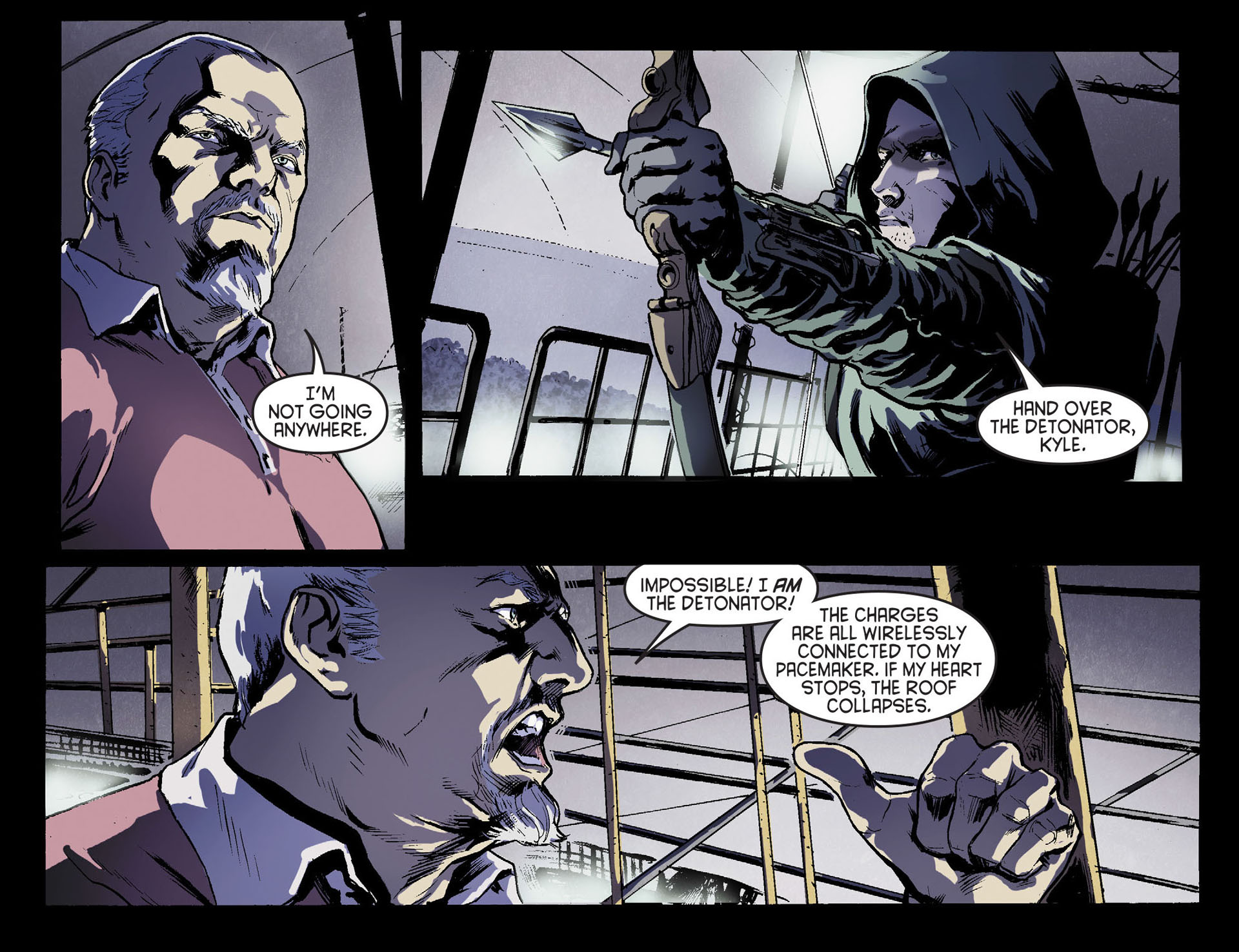 Read online Arrow [II] comic -  Issue #17 - 8