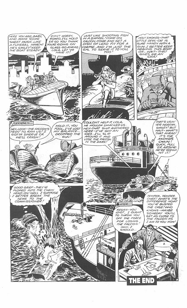 Read online Golden-Age Men of Mystery comic -  Issue #4 - 36