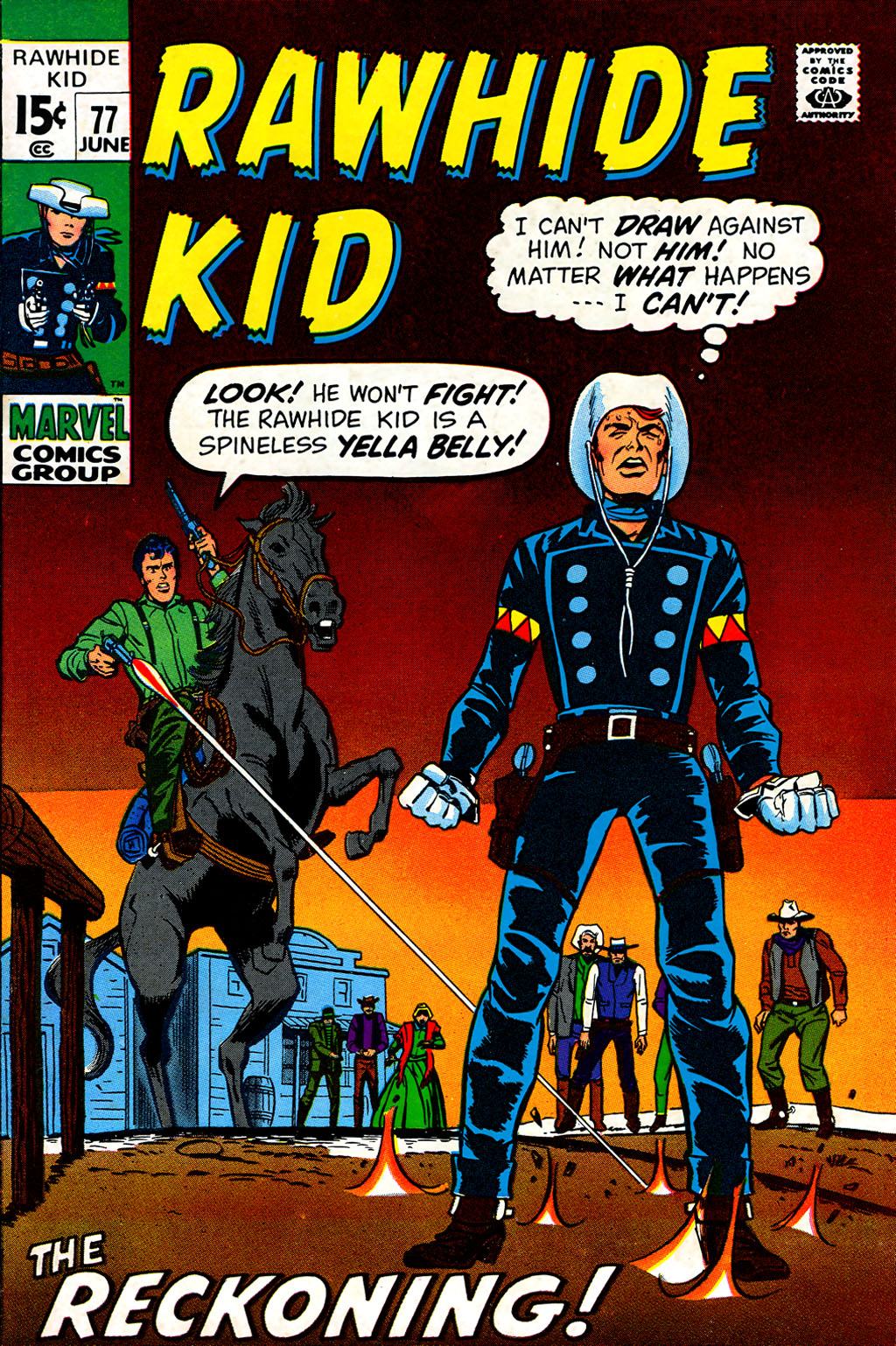 The Rawhide Kid (1955) issue 77 - Page 1