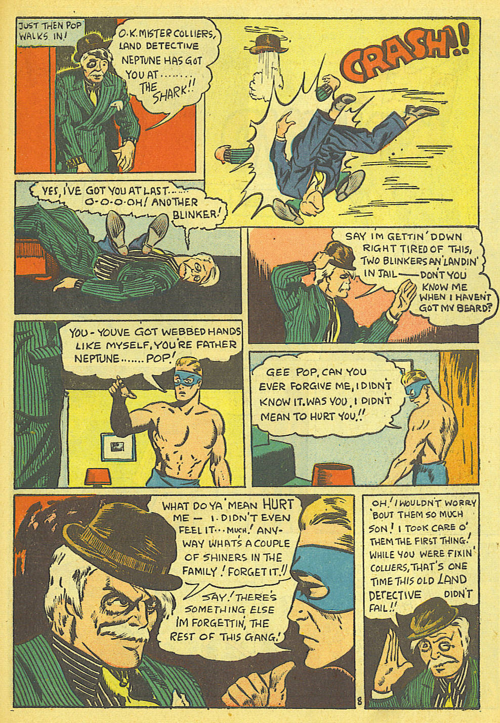 Read online Amazing Man Comics comic -  Issue #19 - 51