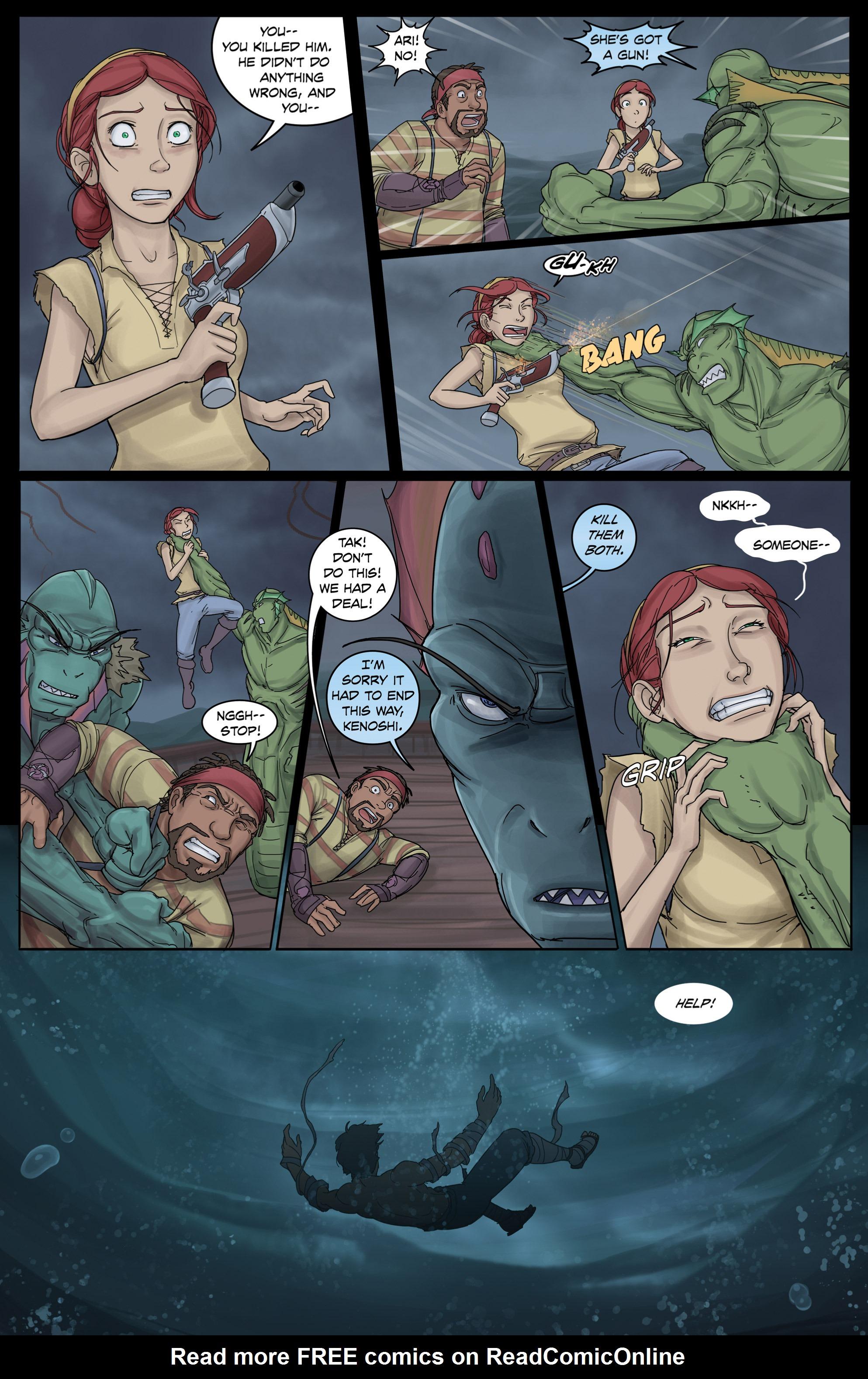 Read online Anne Bonnie comic -  Issue #3 - 15