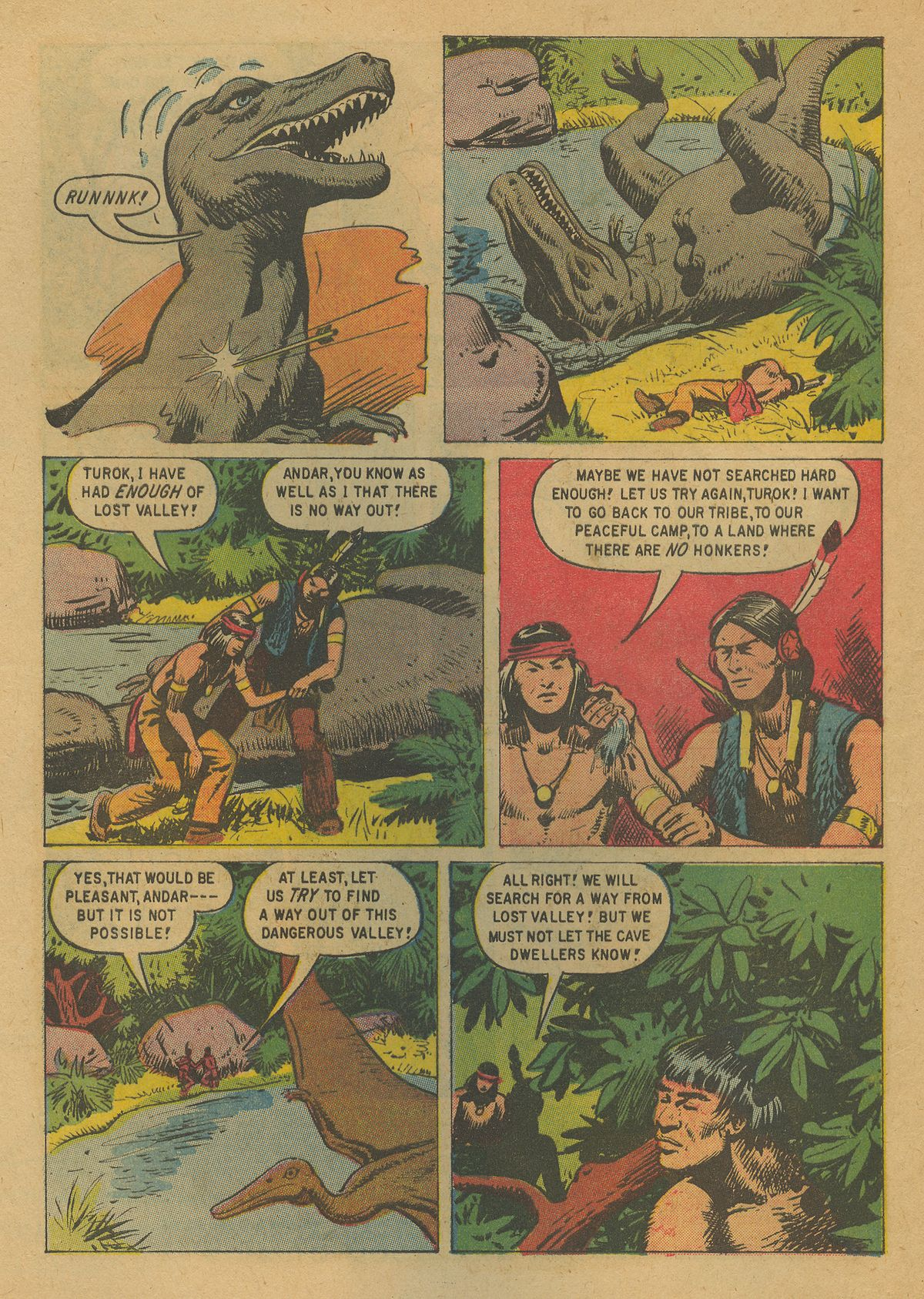 Read online Turok, Son of Stone comic -  Issue #19 - 4
