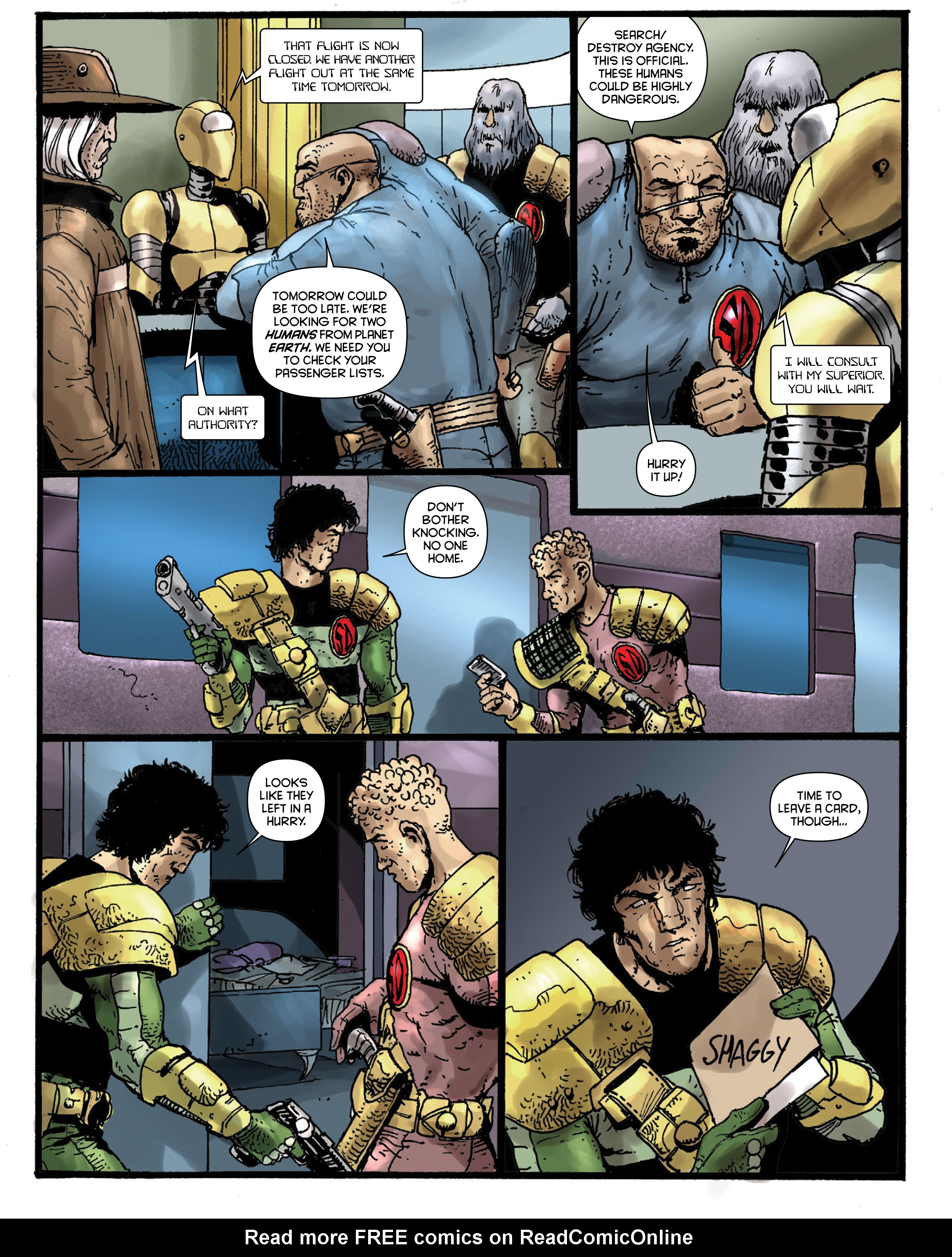 Read online 2000 AD comic -  Issue #1967 - 28