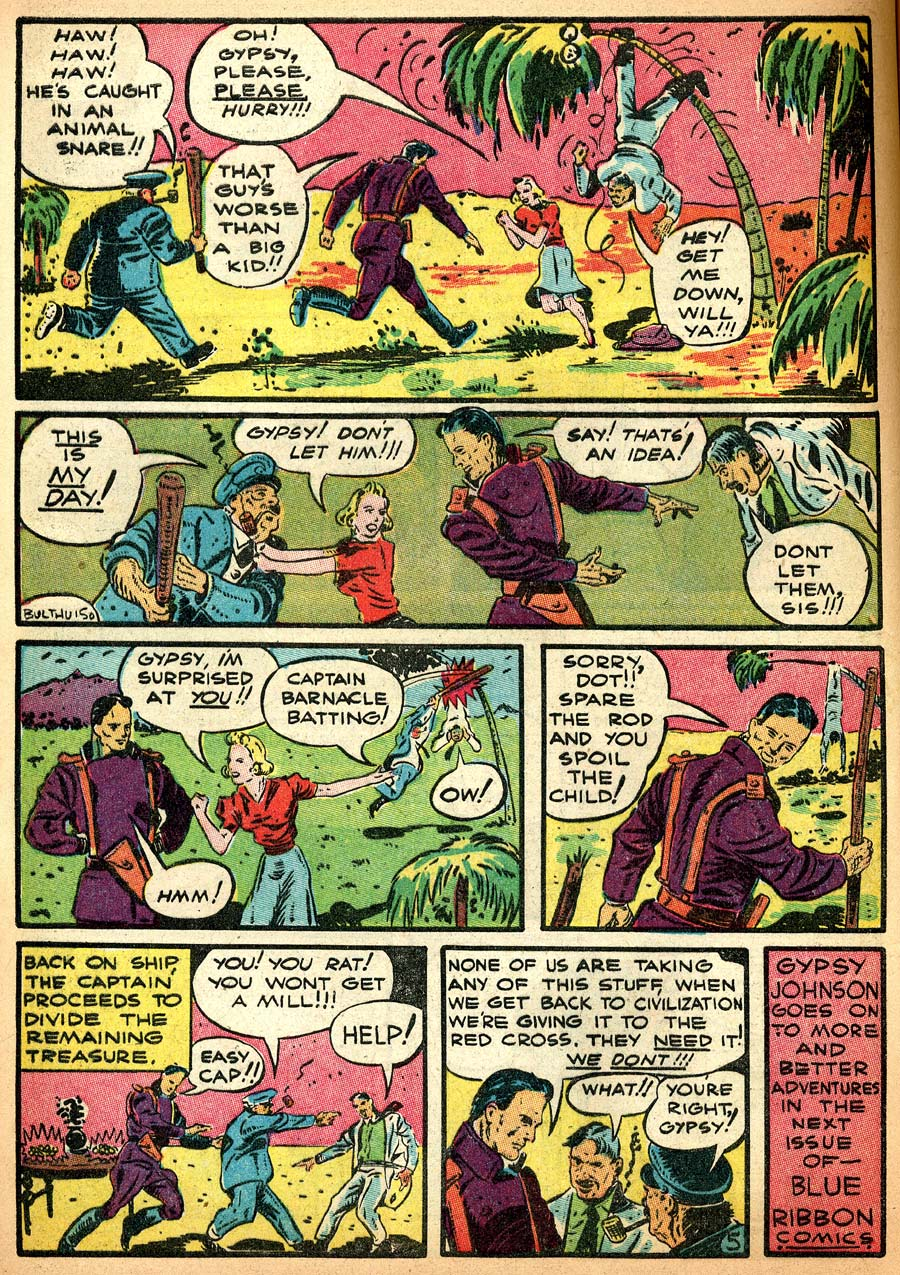 Blue Ribbon Comics (1939) issue 8 - Page 28
