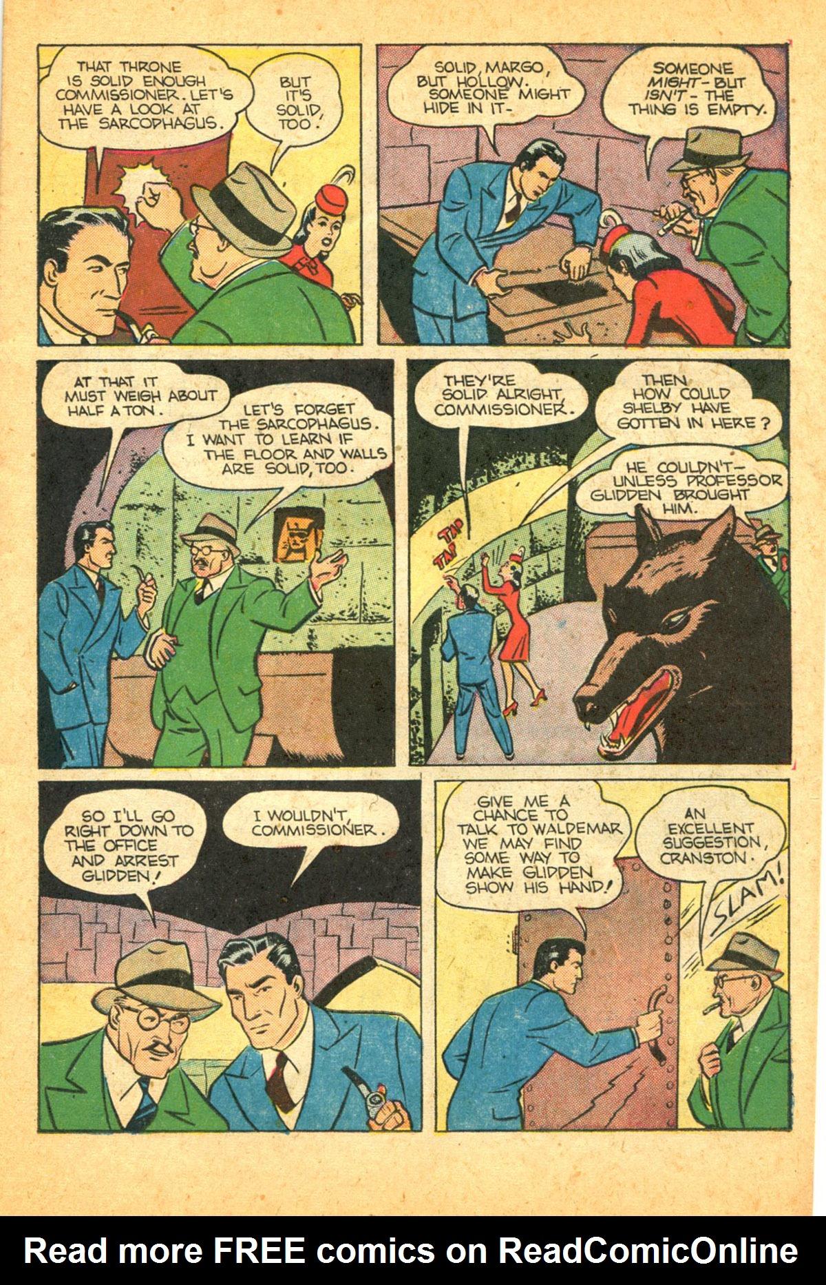 Read online Shadow Comics comic -  Issue #38 - 21